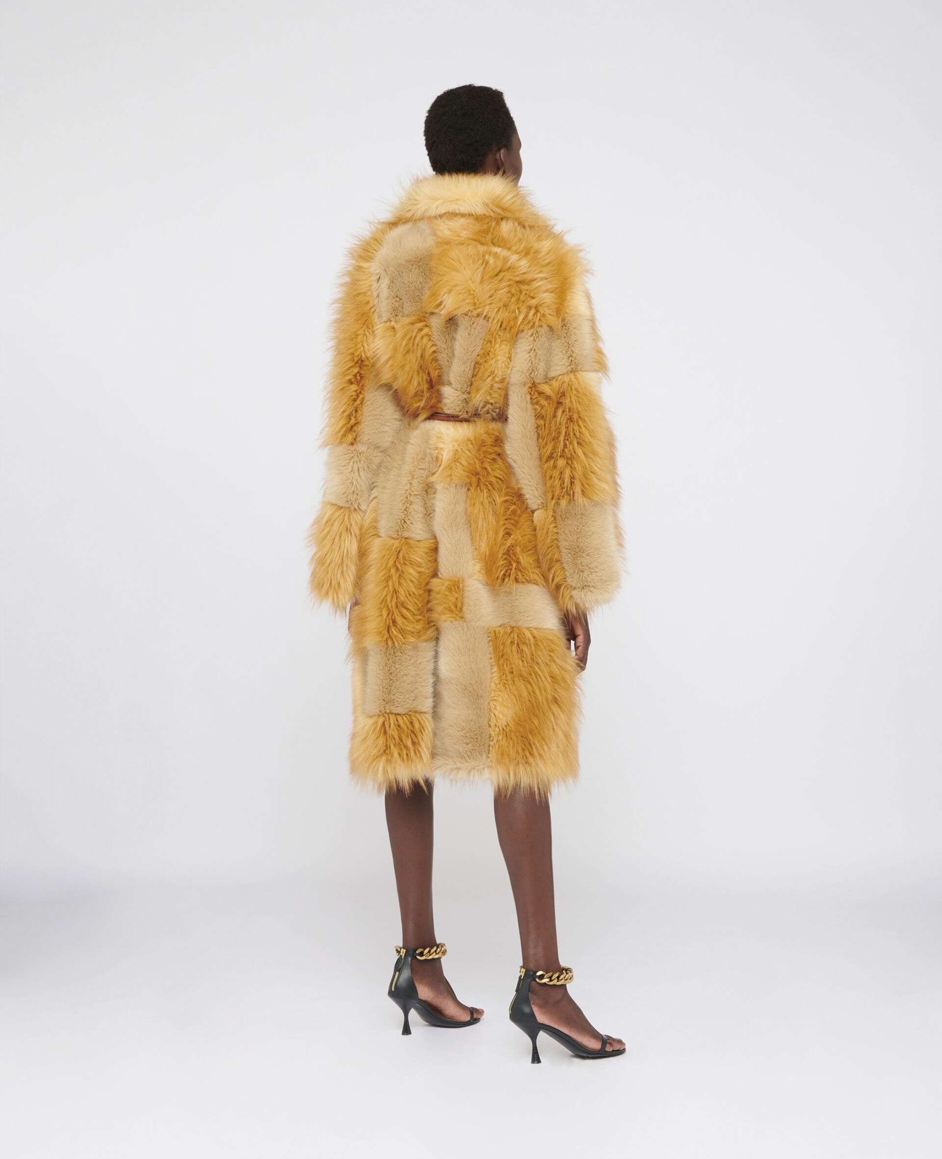 FUR FREE FUR Adrienne Coat-Brown-large image number 2