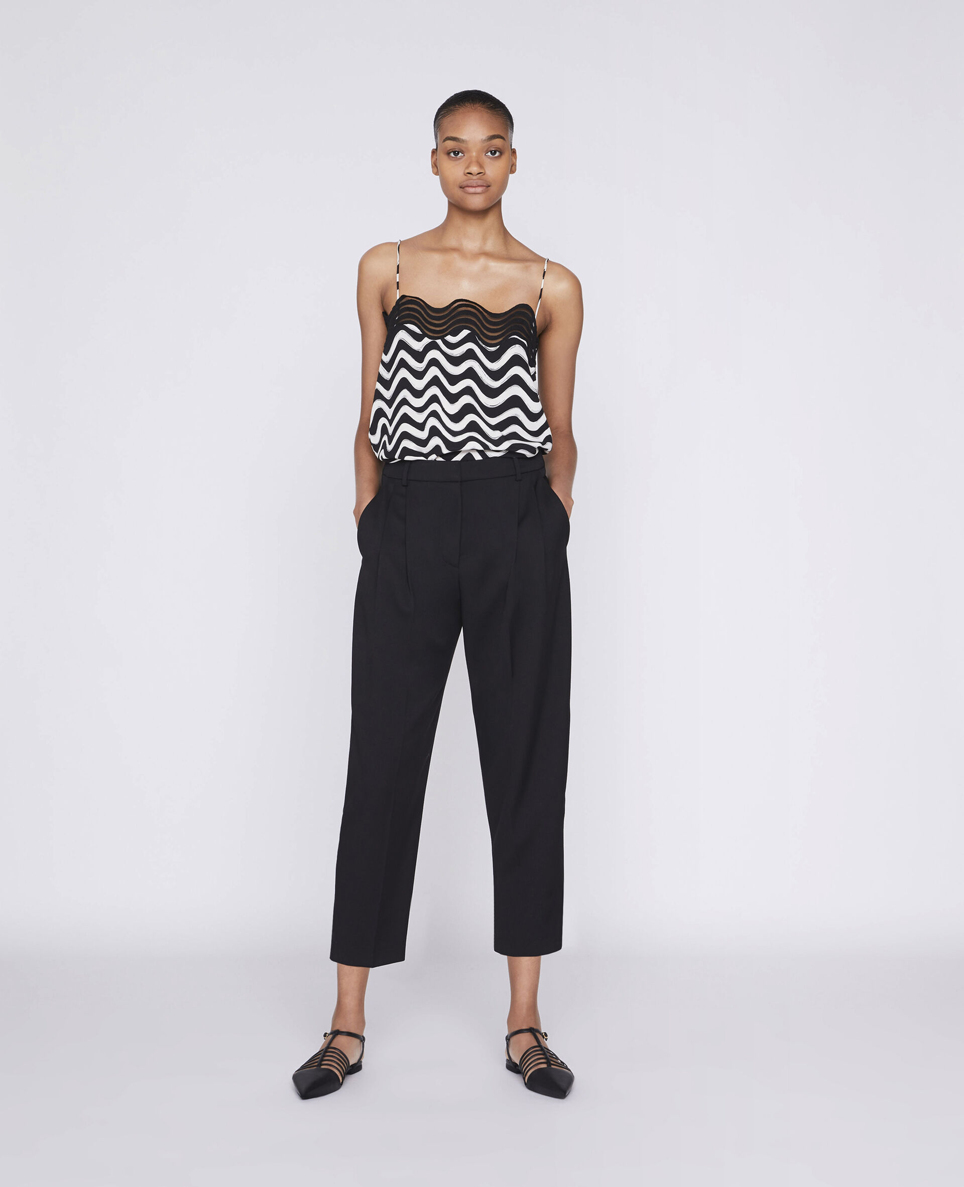 Dawson Tailored Trousers-Black-large image number 1