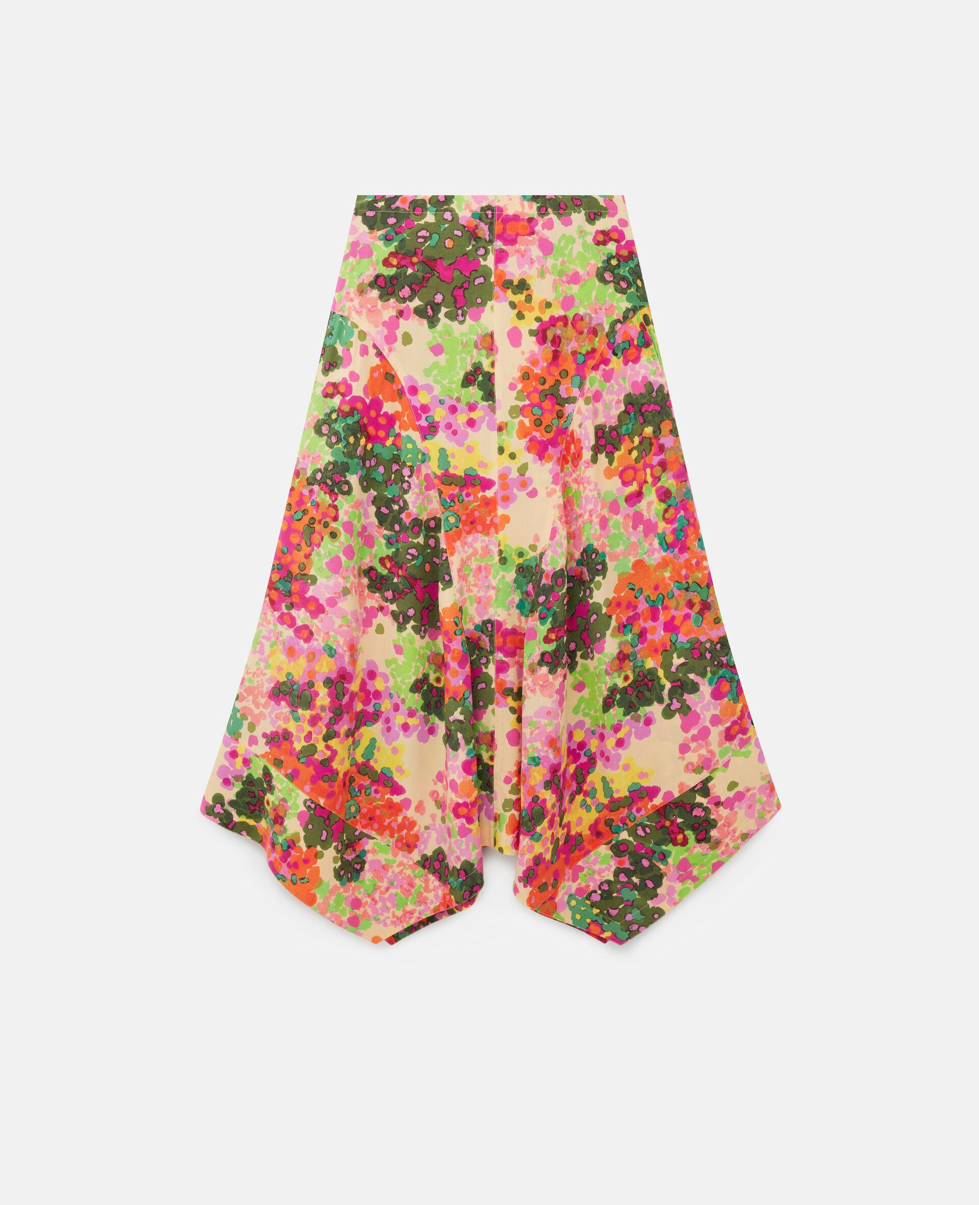 Naya Silk Skirt-Multicolour-large image number 0