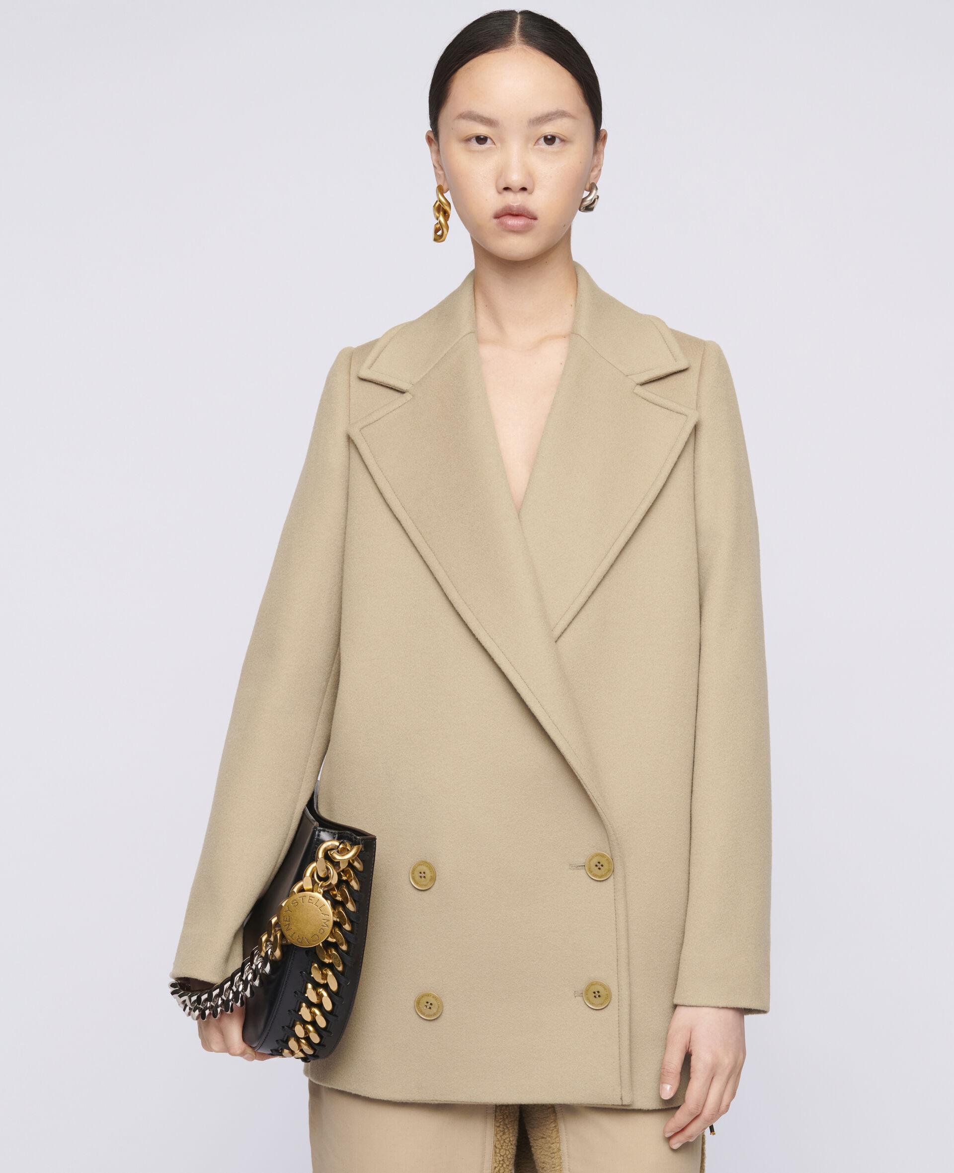 Karina Wool Coat-Brown-large image number 3