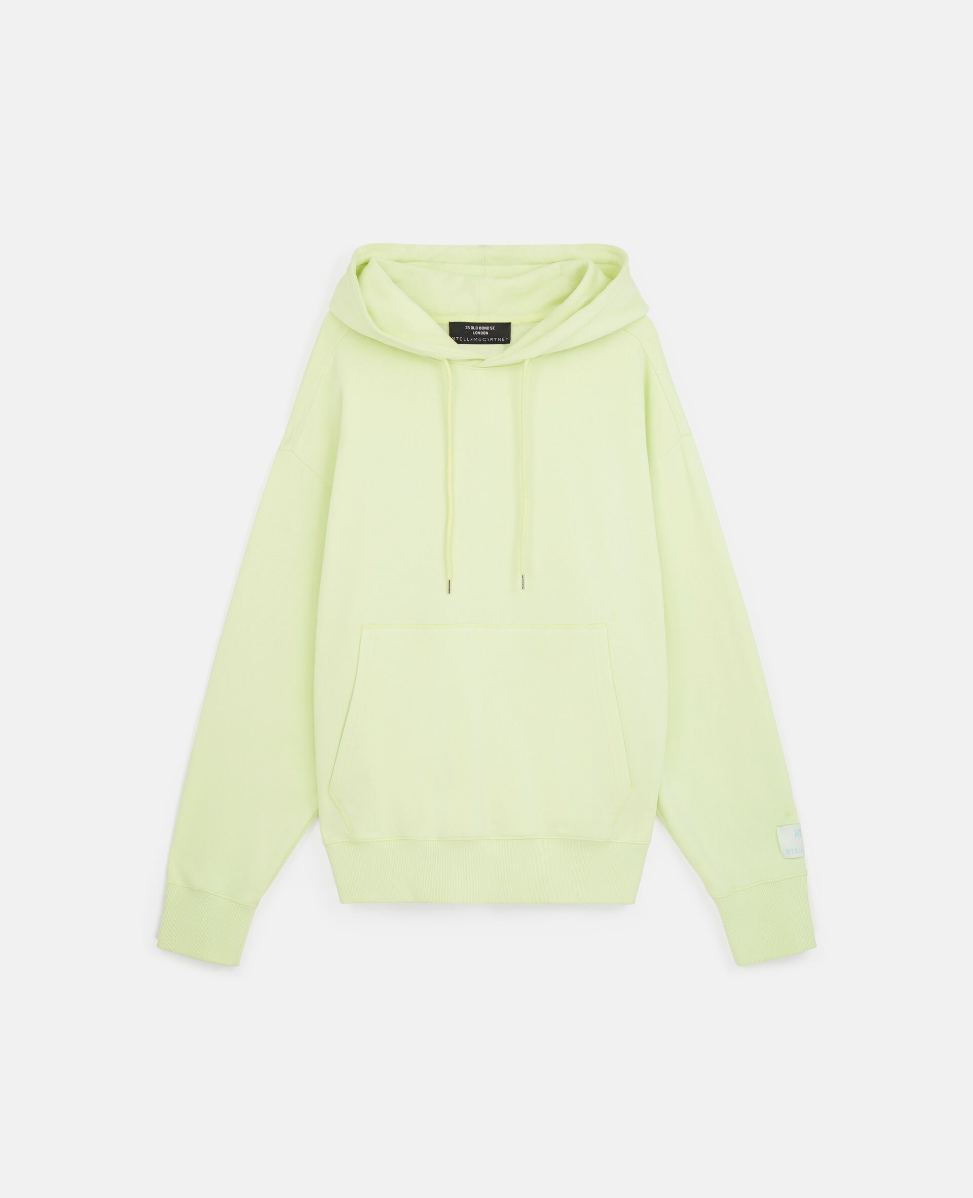 Myfawnwy Printed Hoodie -Yellow-large image number 0