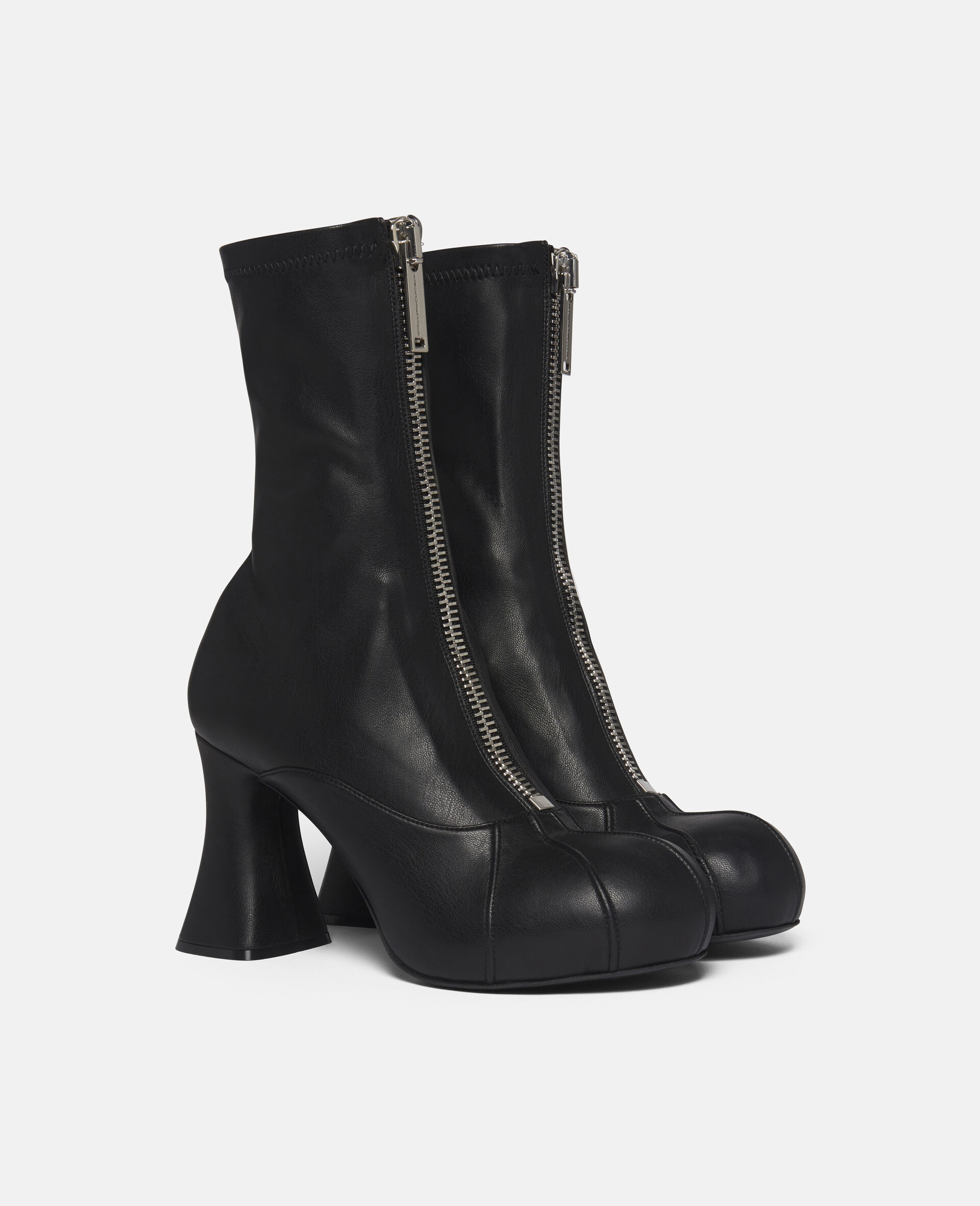 Duck City Ankle Boots -Black-large image number 1