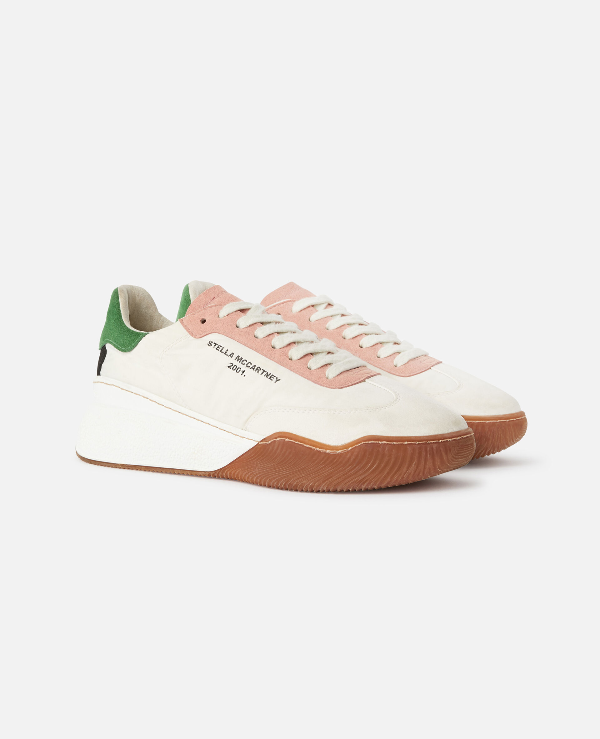 Loop Lace-up Sneakers-Multicolour-large image number 1