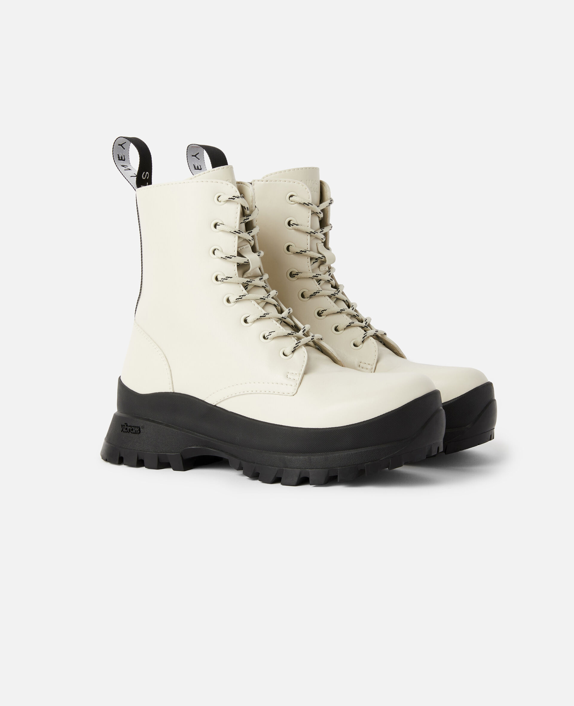 Trace Logo Boots-White-large image number 1
