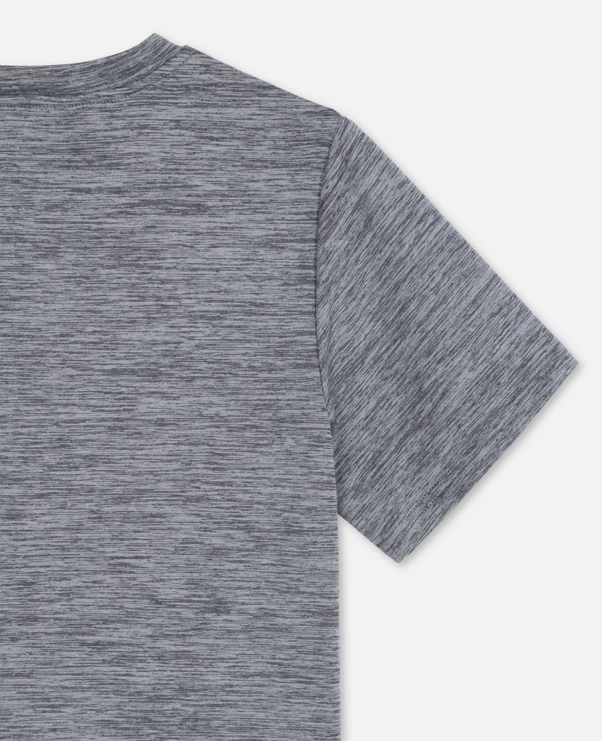 Space Dye Active T-shirt -Grey-large image number 2