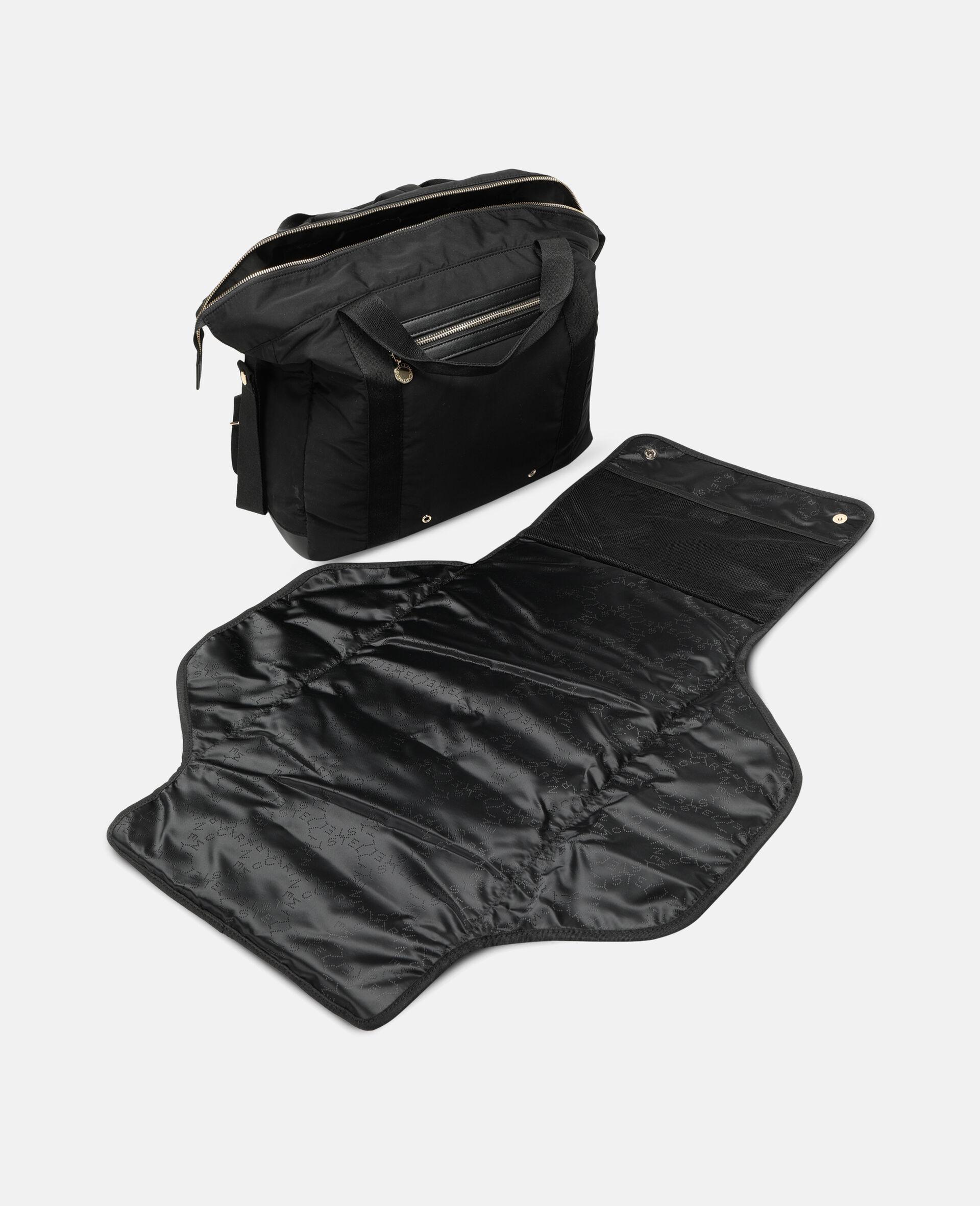 Diaper Backpack-Black-large image number 2