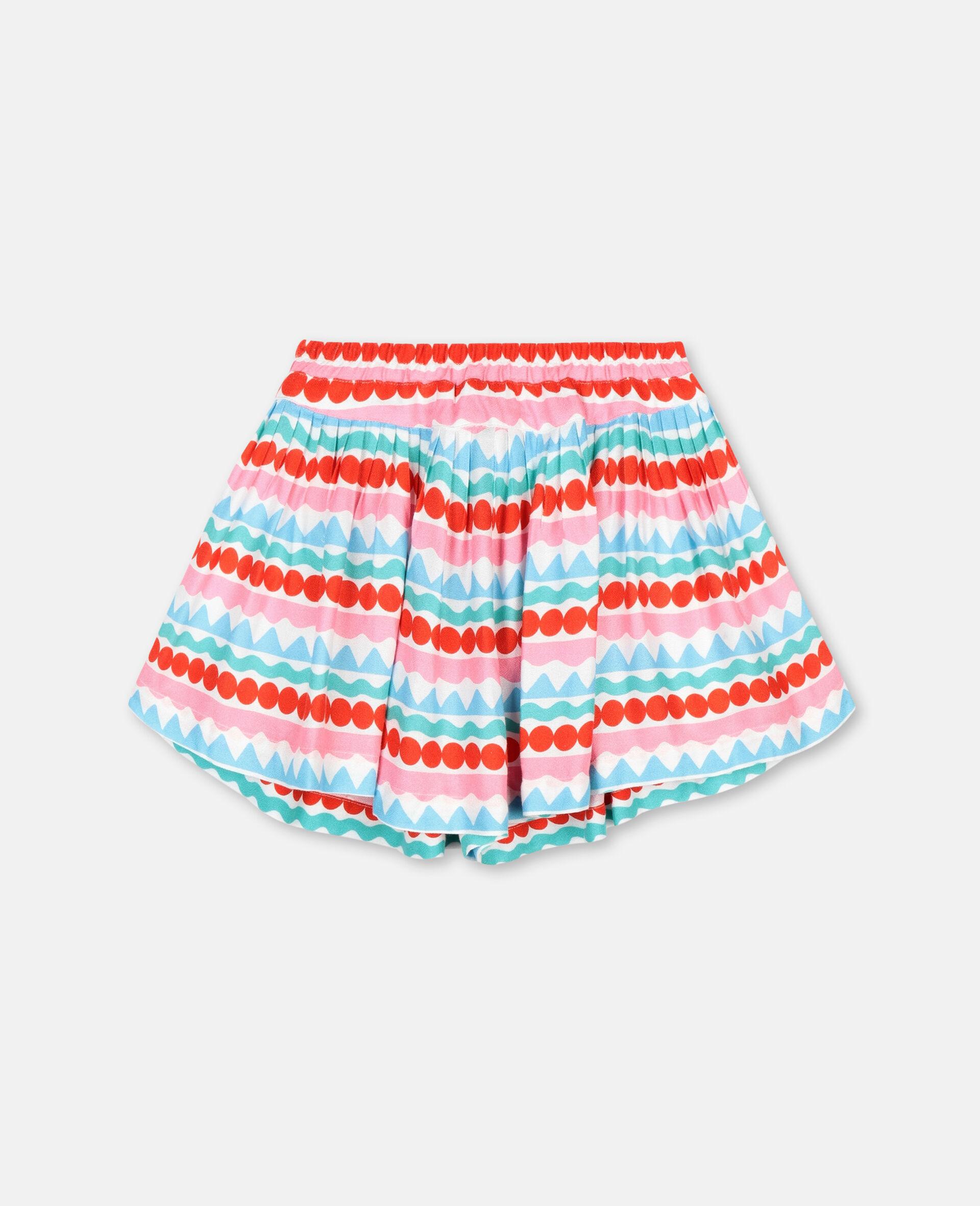 Shorts mit graphischen Streifen-Bunt-large image number 3