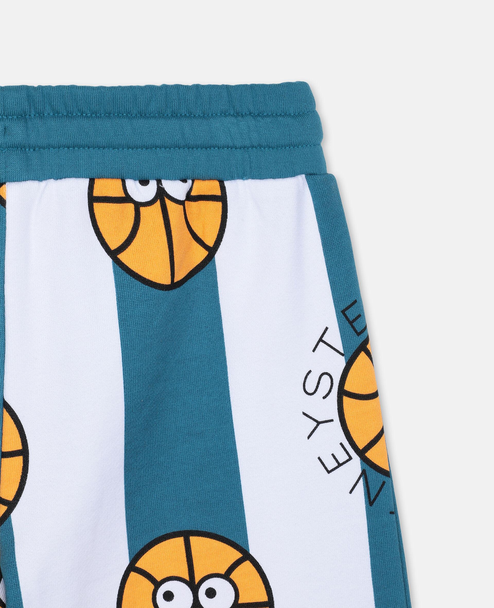 Basketball Cotton Shorts -Multicolour-large image number 2