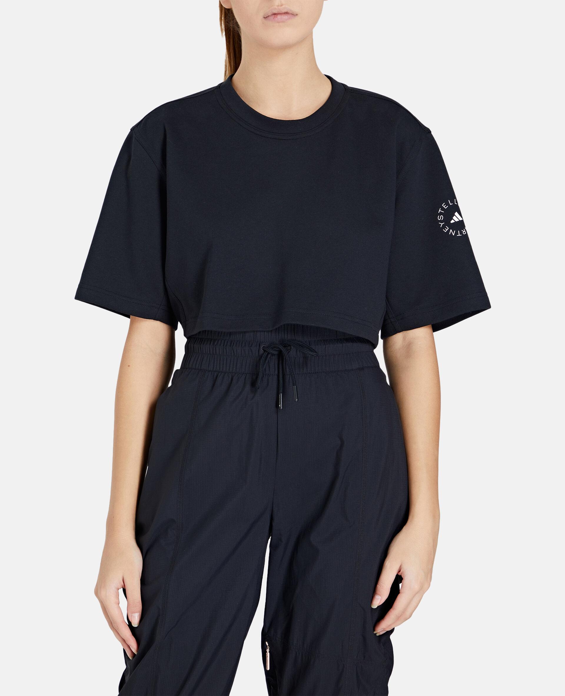 Future Playground Crop T-Shirt-Black-large image number 4