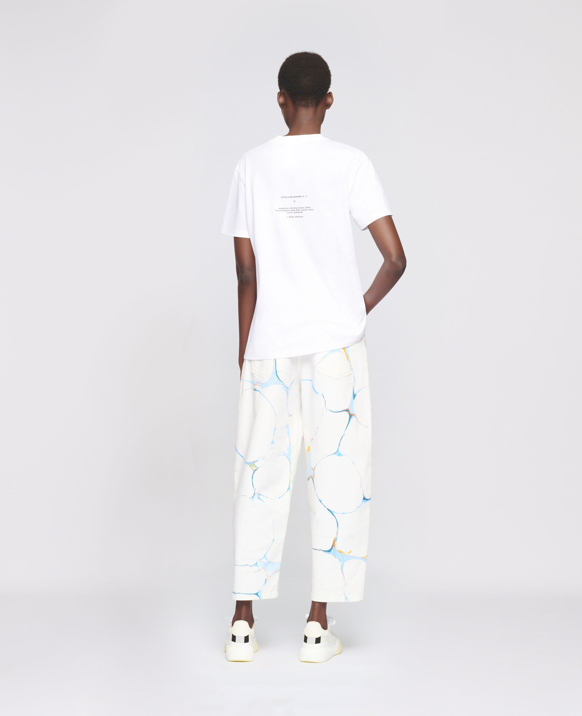 """Olafur Eliasson """"O"""" T-shirt-White-large image number 2"""