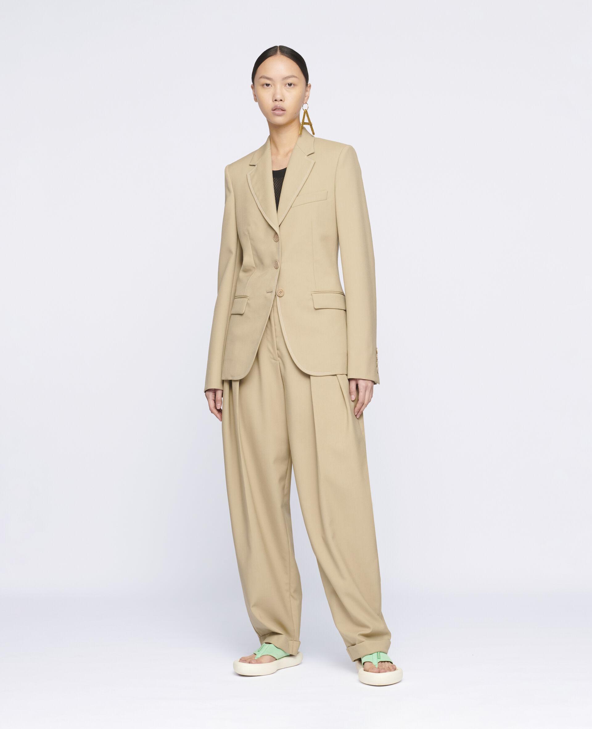 Ariana 羊毛裤装-米色-large image number 1