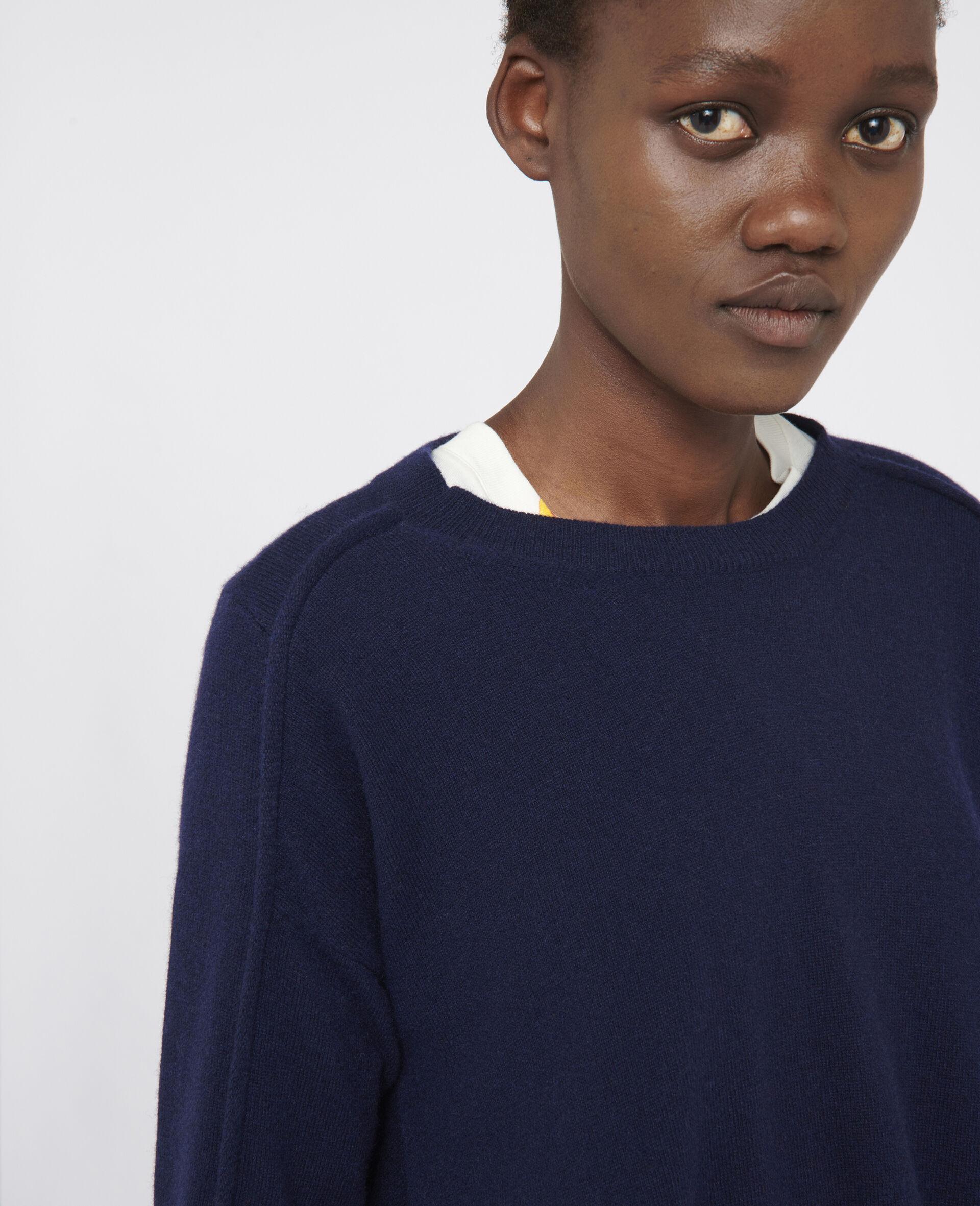 Light Cashmere Sweater-Blue-large image number 3