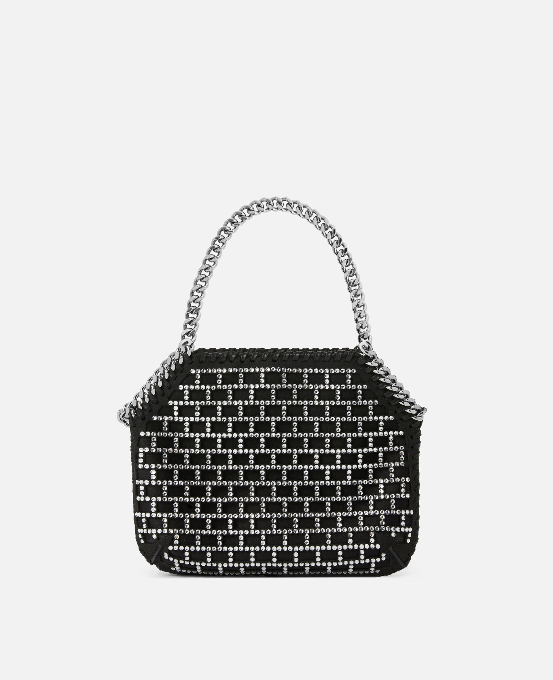 Mini Falabella Shoulder Bag -Black-large image number 2