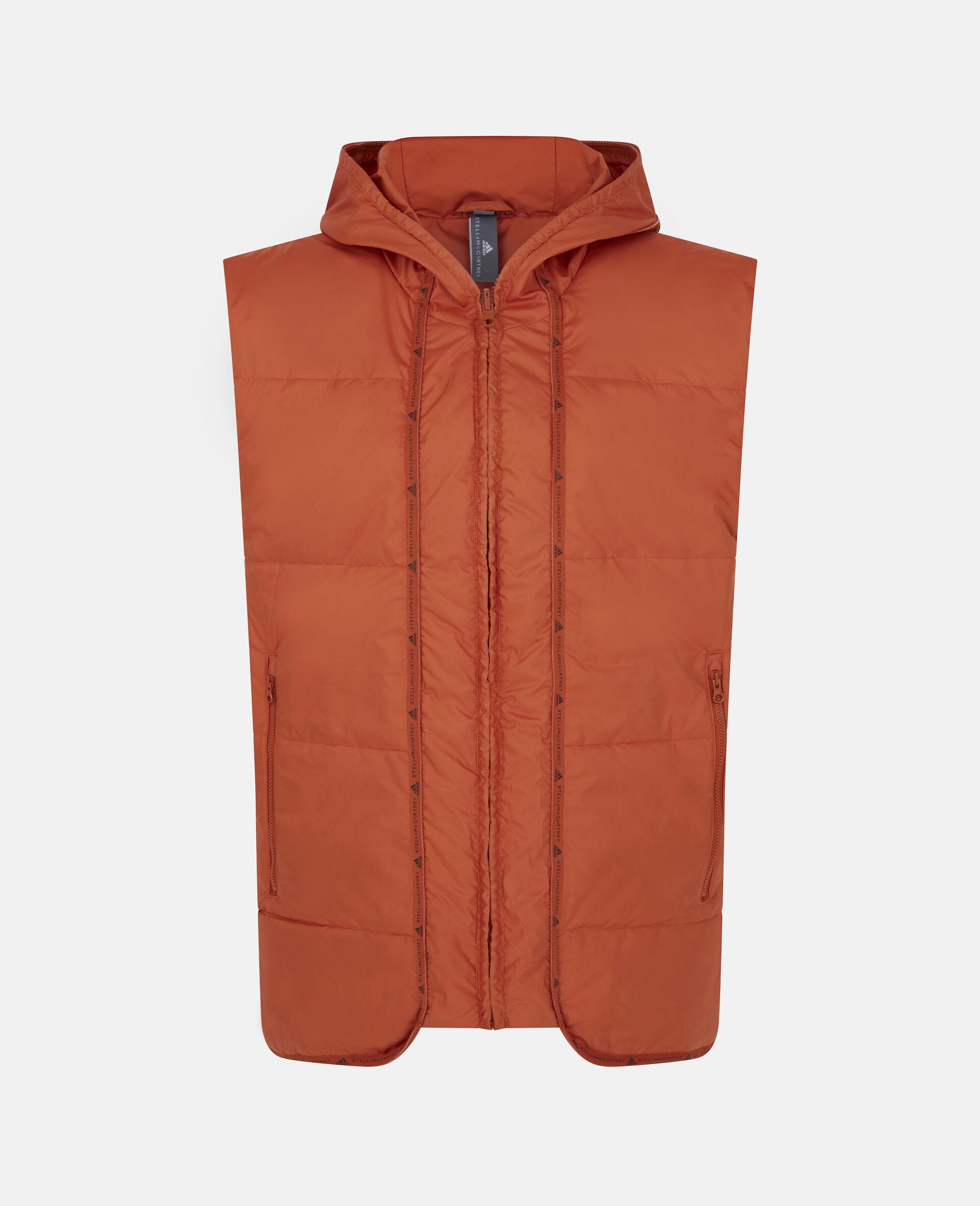 Training Mid Puffer Jacket-Orange-large image number 4