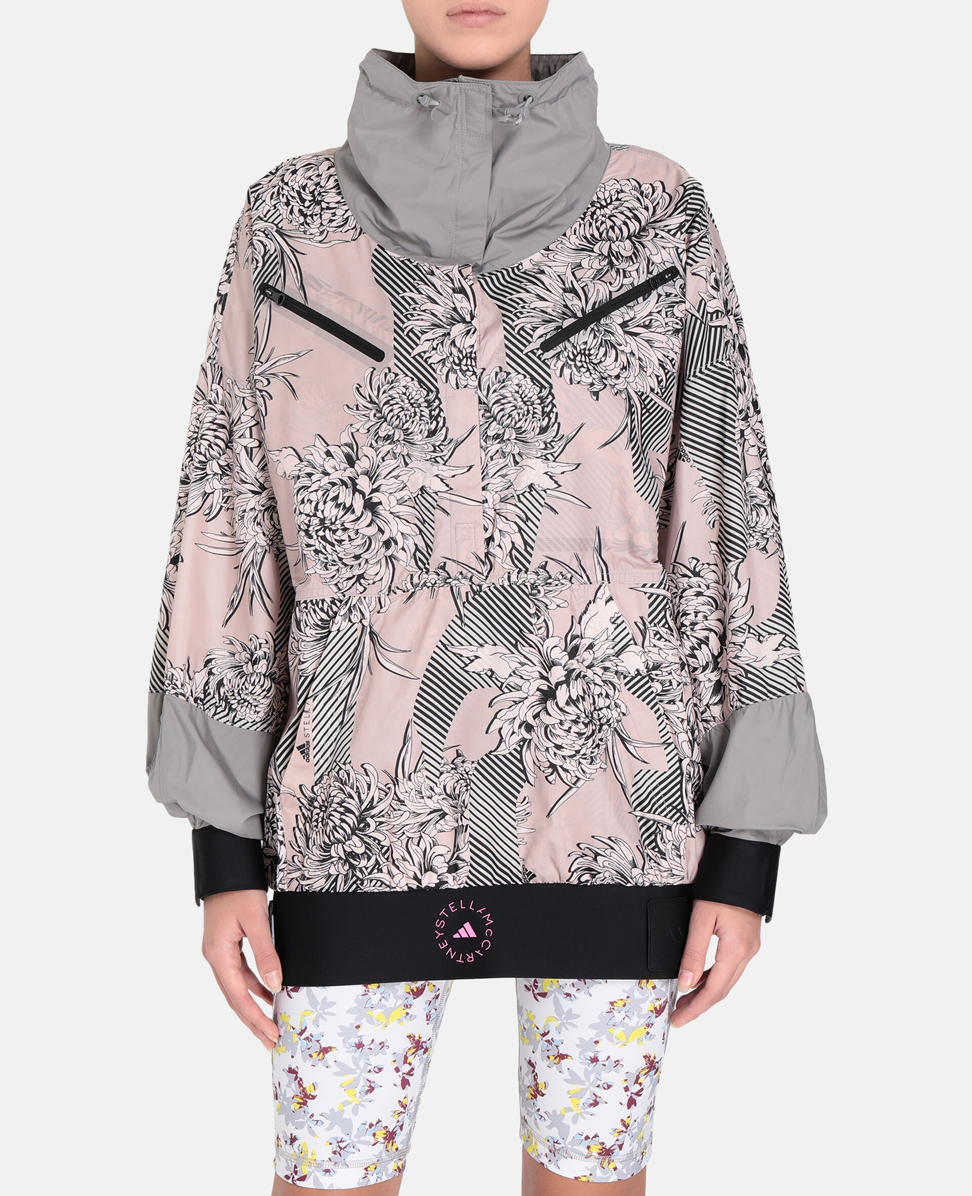 Future Playground Half-Zip Jacket -Pink-large image number 4
