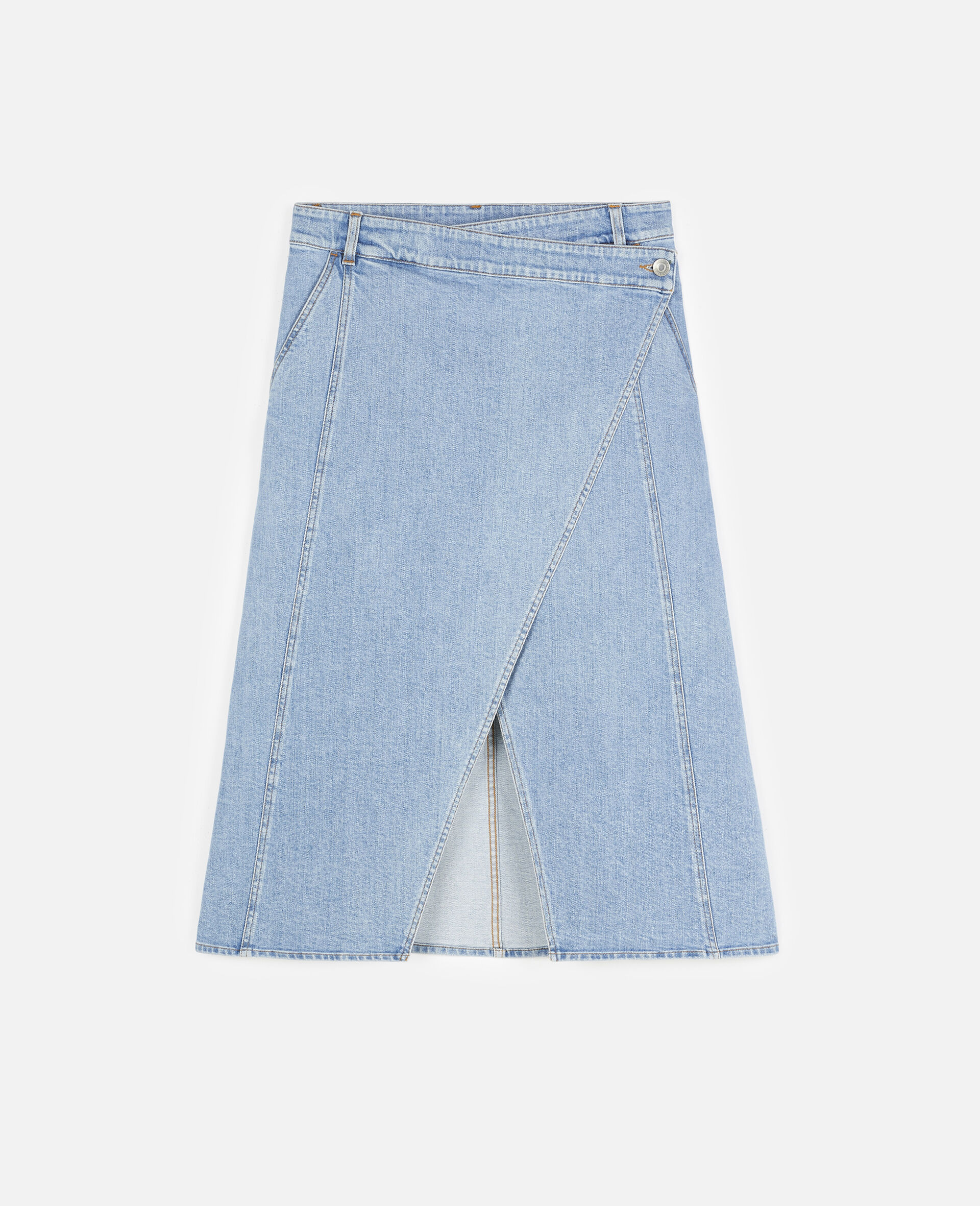 Peyton Denim Skirt -Blue-large image number 0