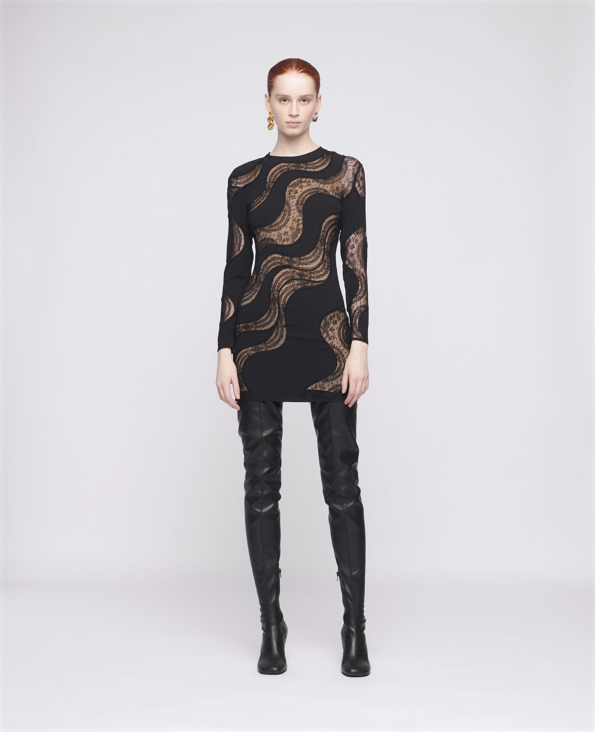 Makenzie Mini Dress-Black-large image number 1