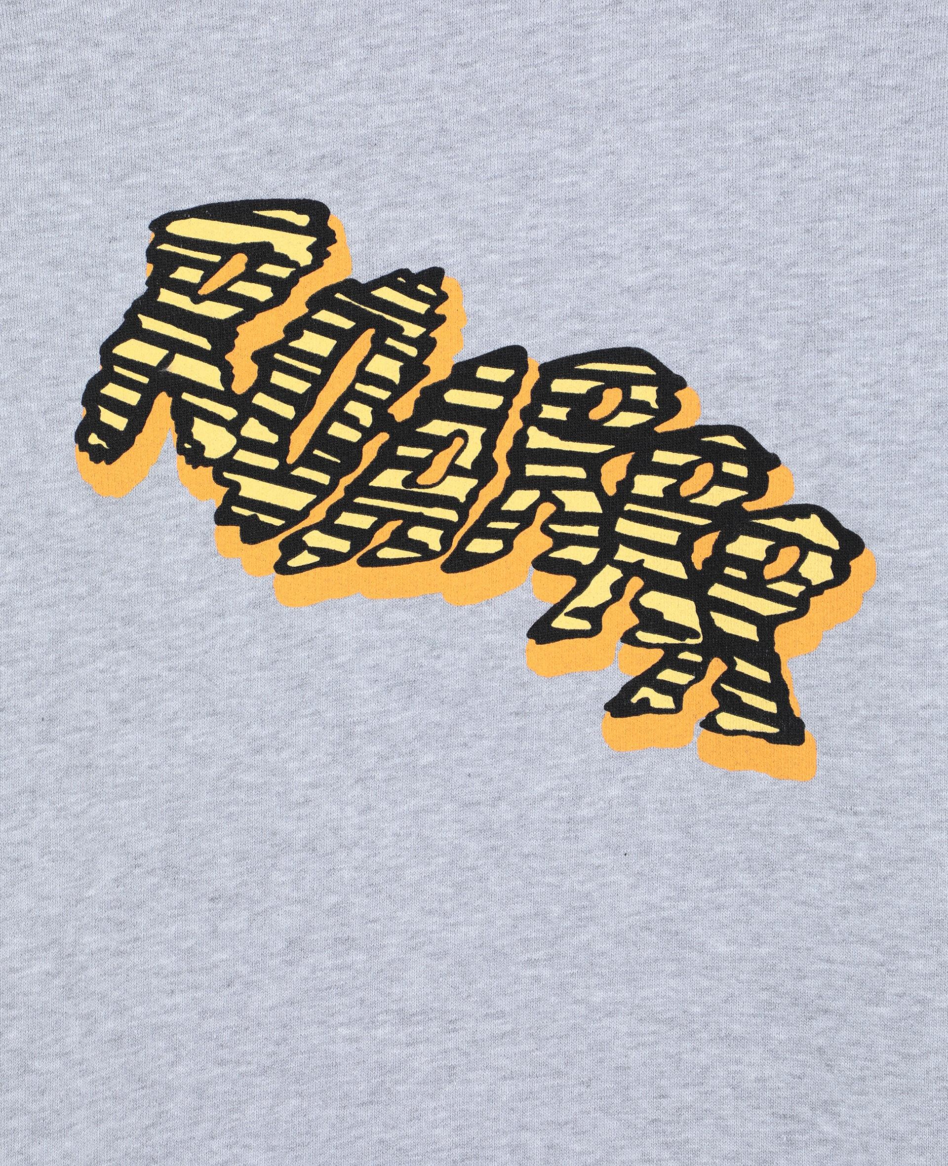 Roarrr Cotton Sweatshirt -Grey-large image number 2