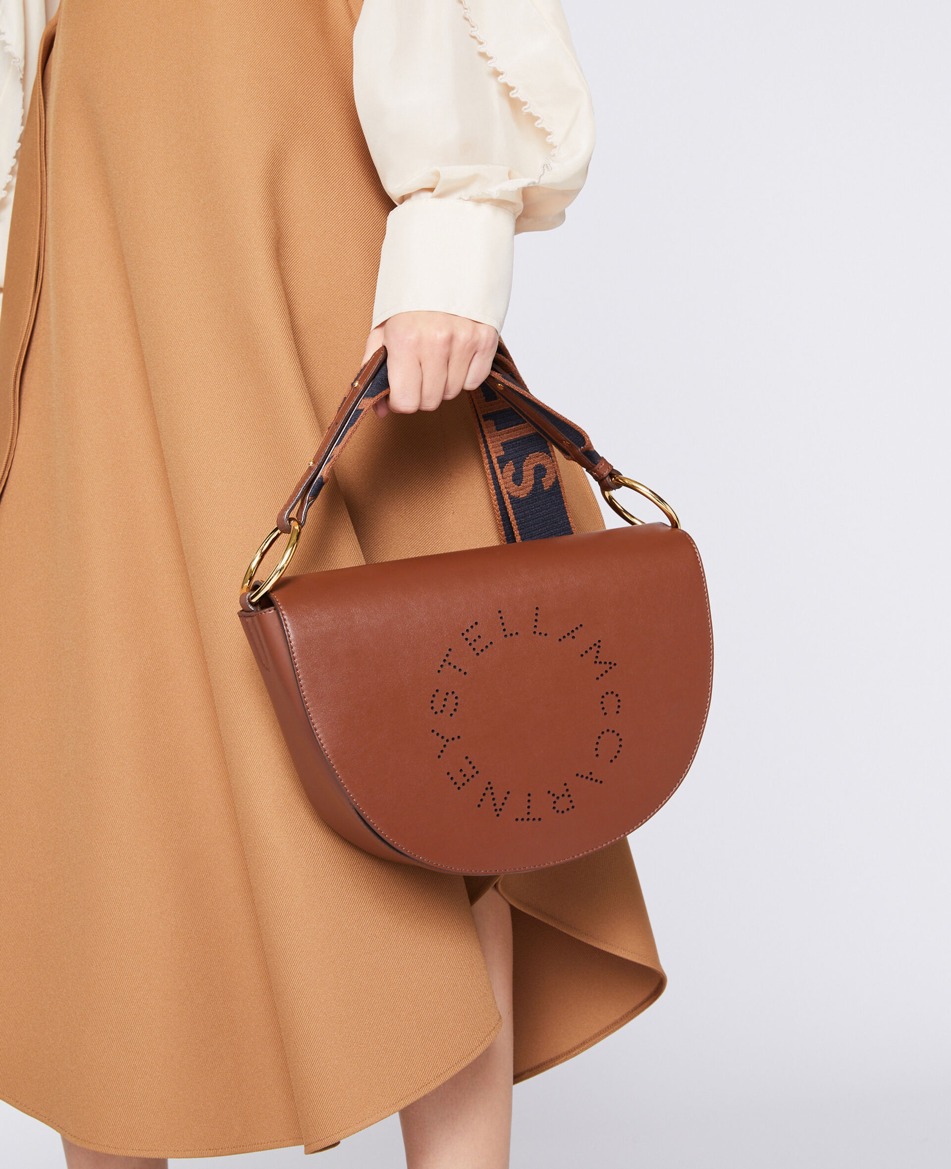 Marlee Logo Bag-Brown-large image number 4
