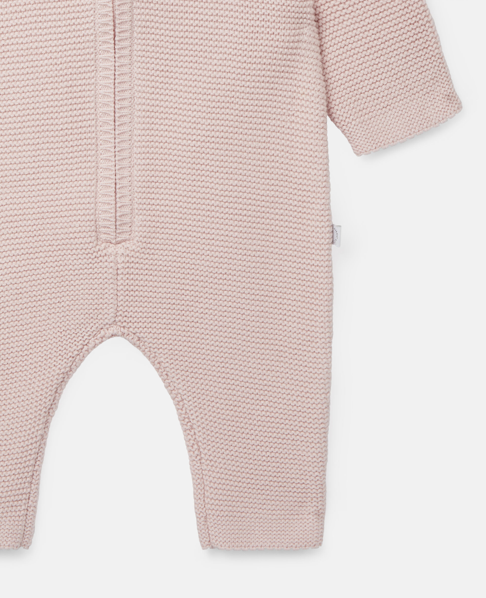 Doggie Knit Jumpsuit-Pink-large image number 2