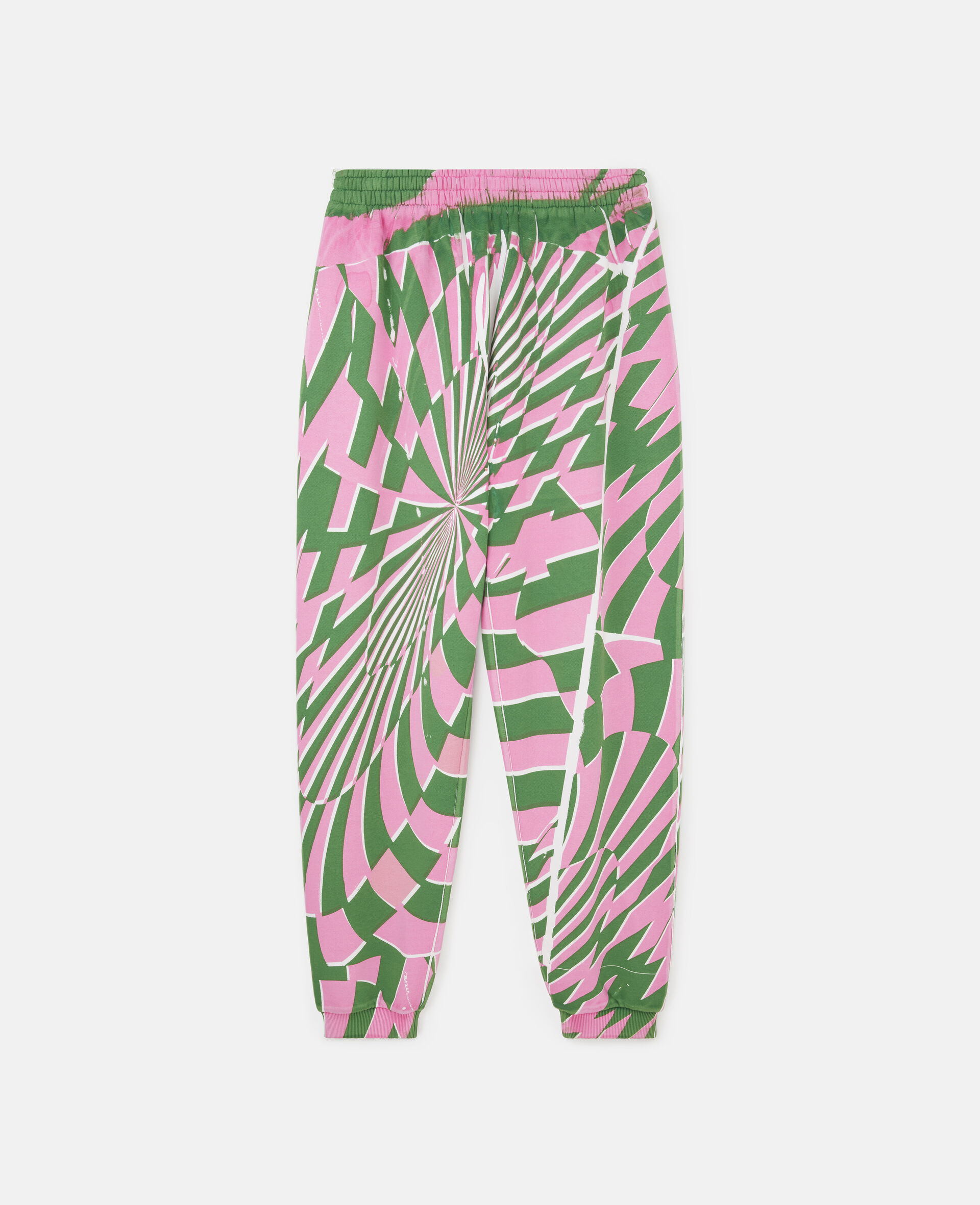 Ed Curtis Psychedelic Sweatpants-Multicolour-large image number 0