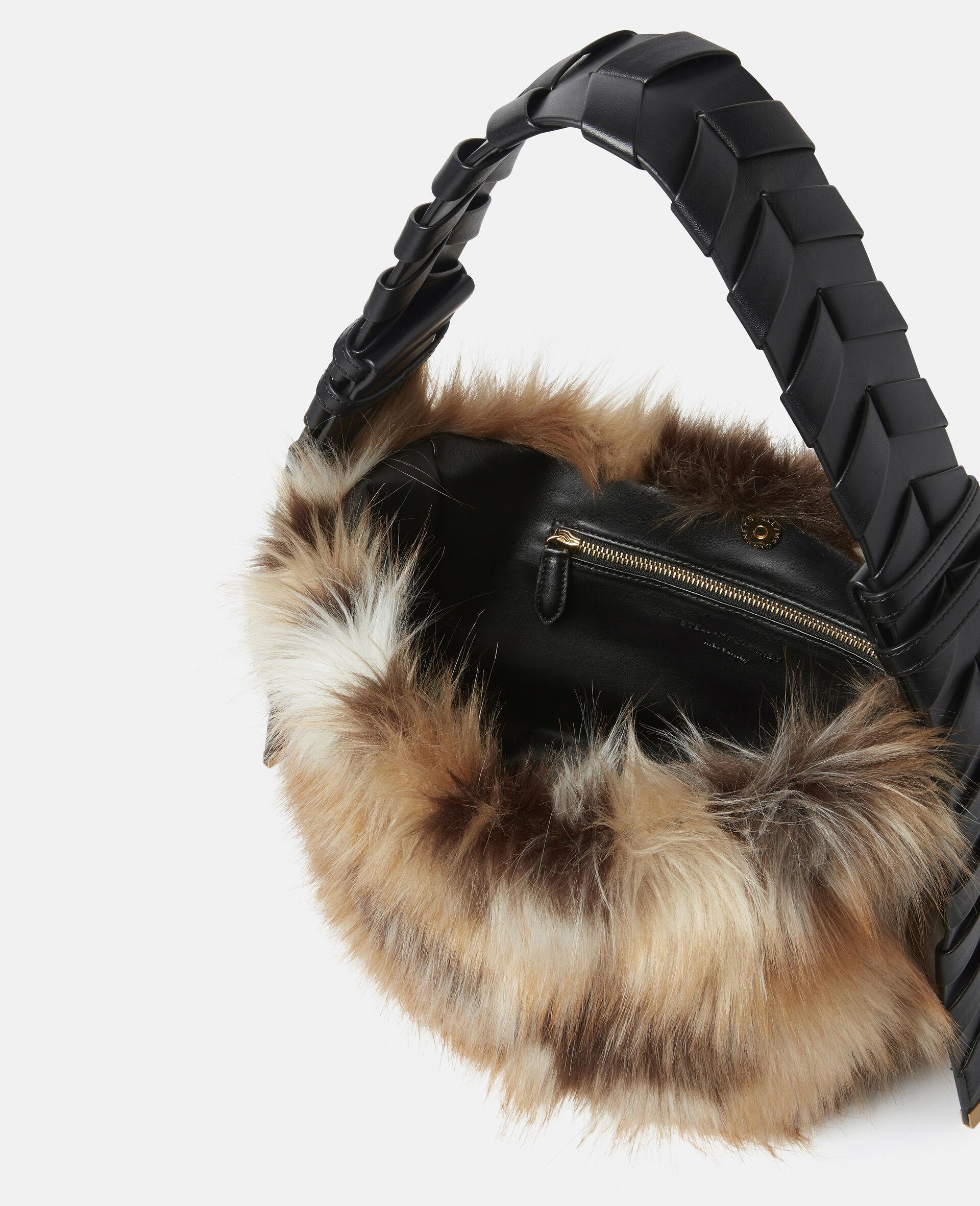 Small Hobo FFF Shoulder Bag-Multicolour-large image number 3