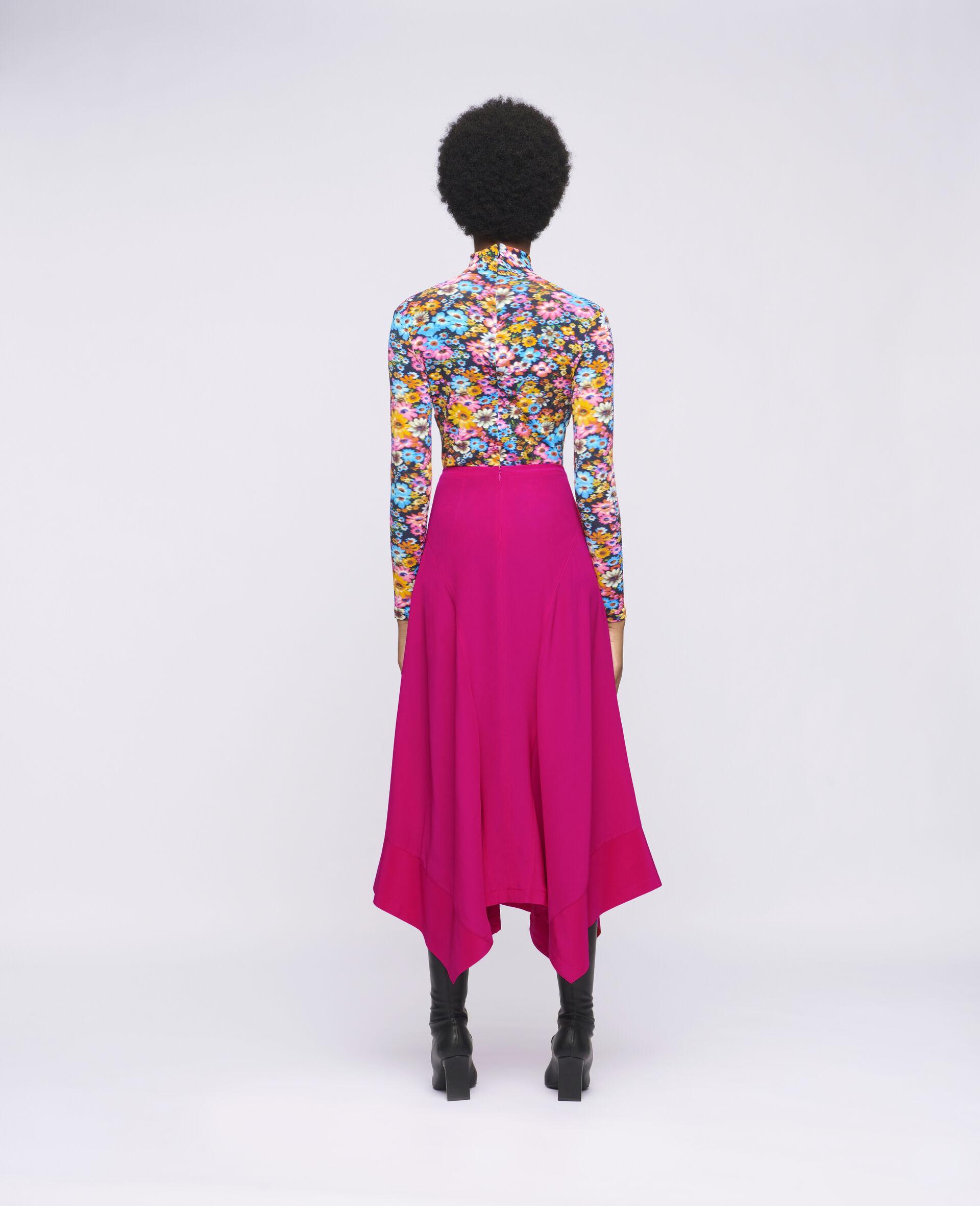Naya Silk Skirt-Pink-large image number 2