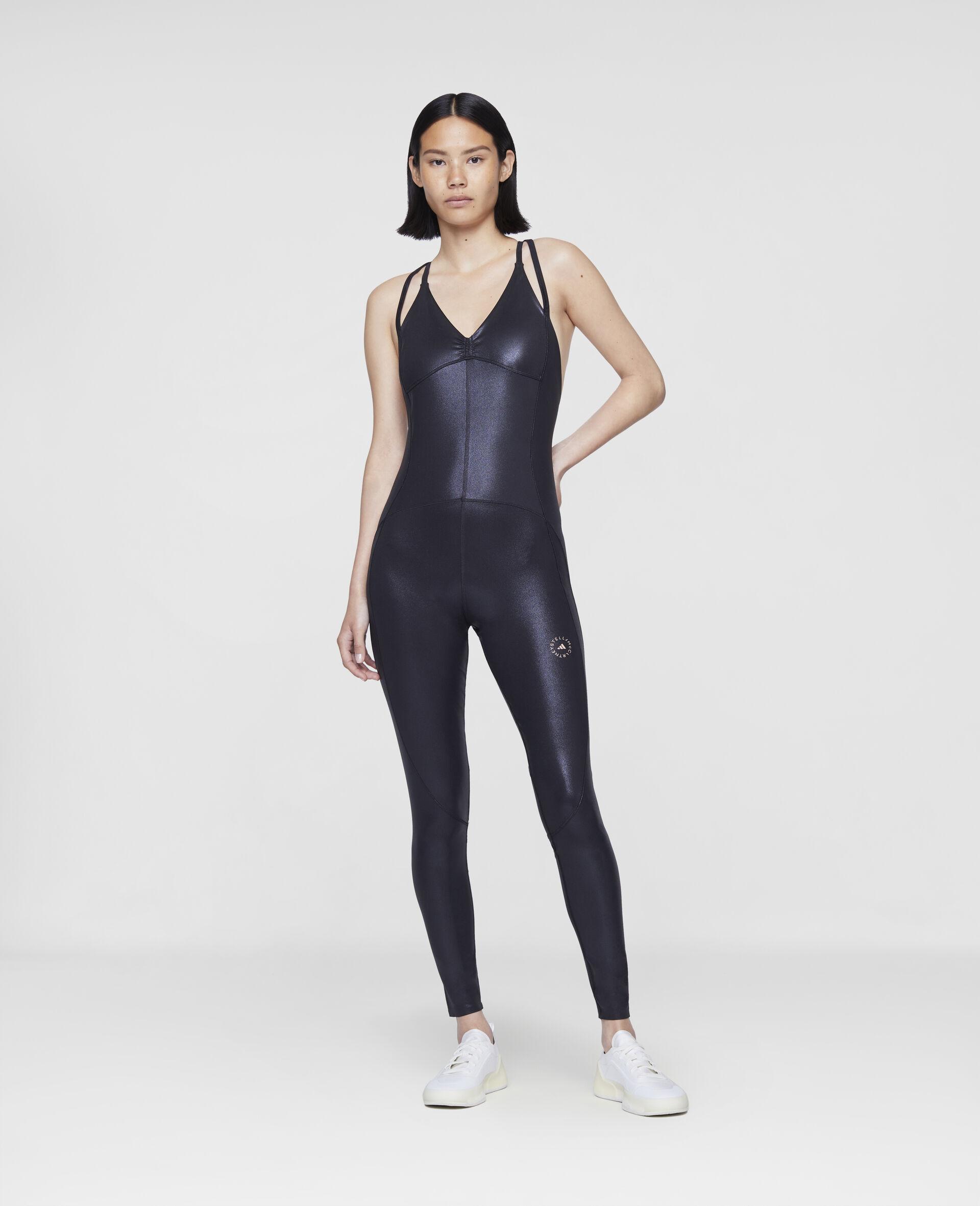 Black Training Bodysuit-Black-large image number 1
