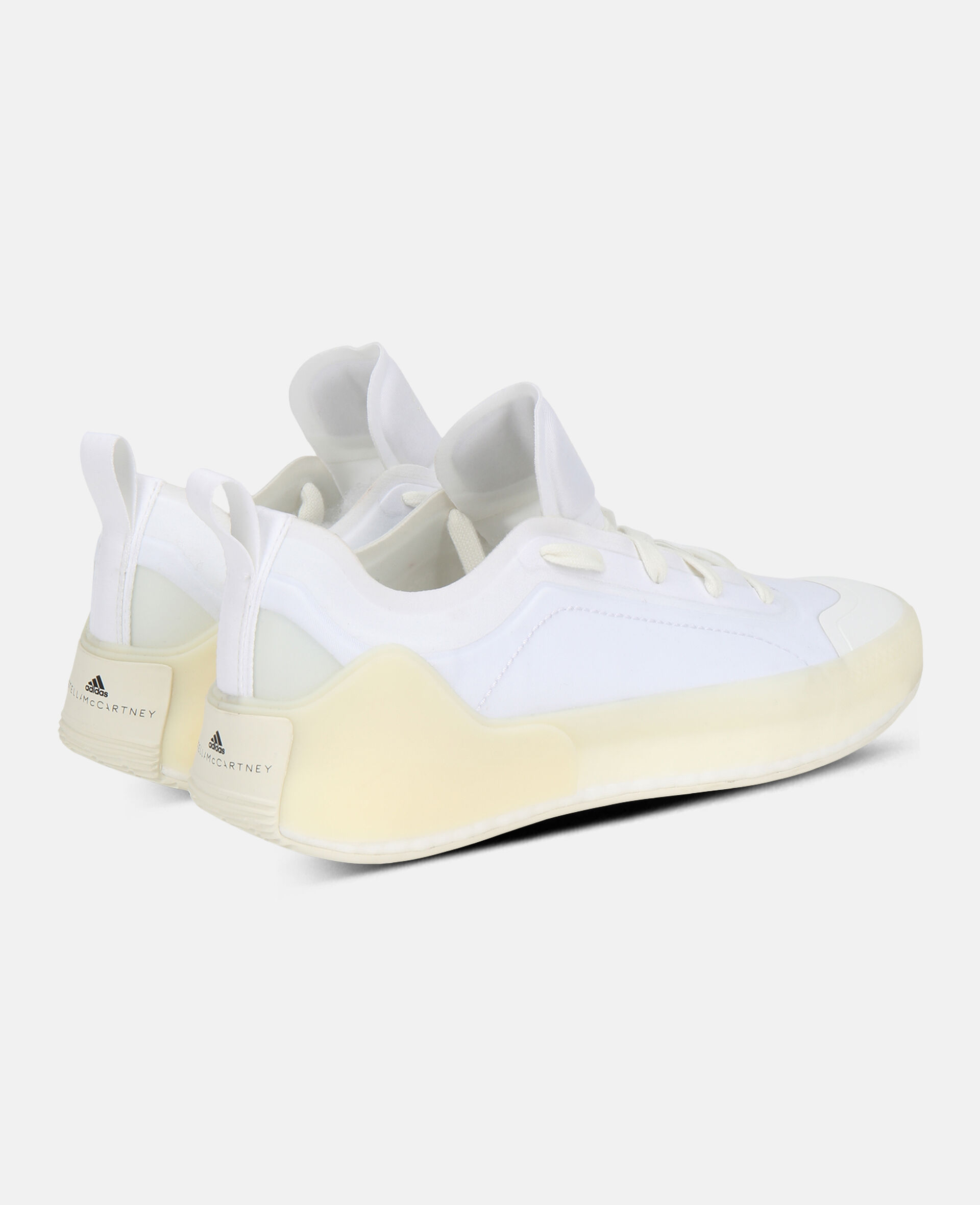 White Boost Treino Sneakers-White-large image number 4