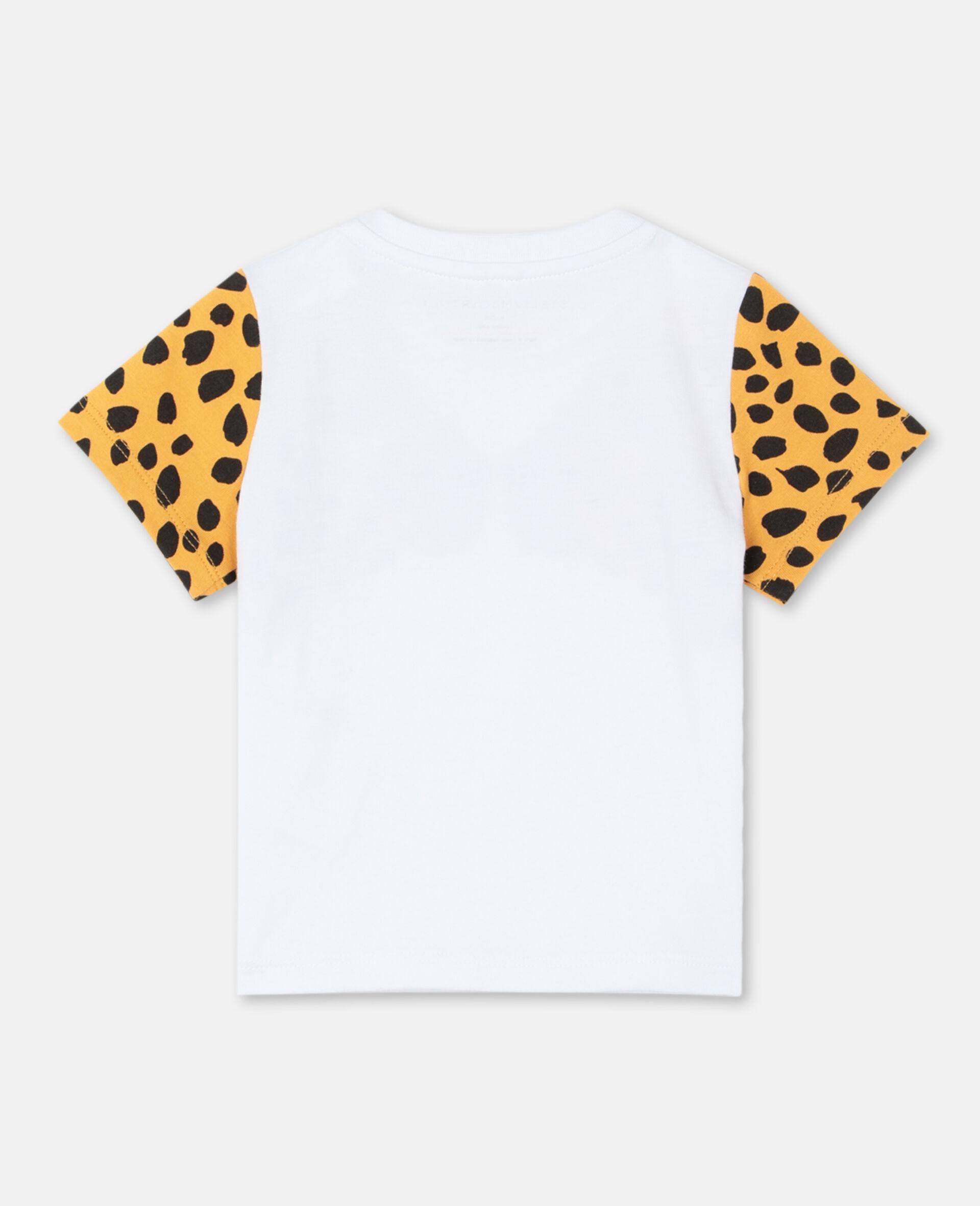 チーター コットン Tシャツ -ホワイト-large image number 3
