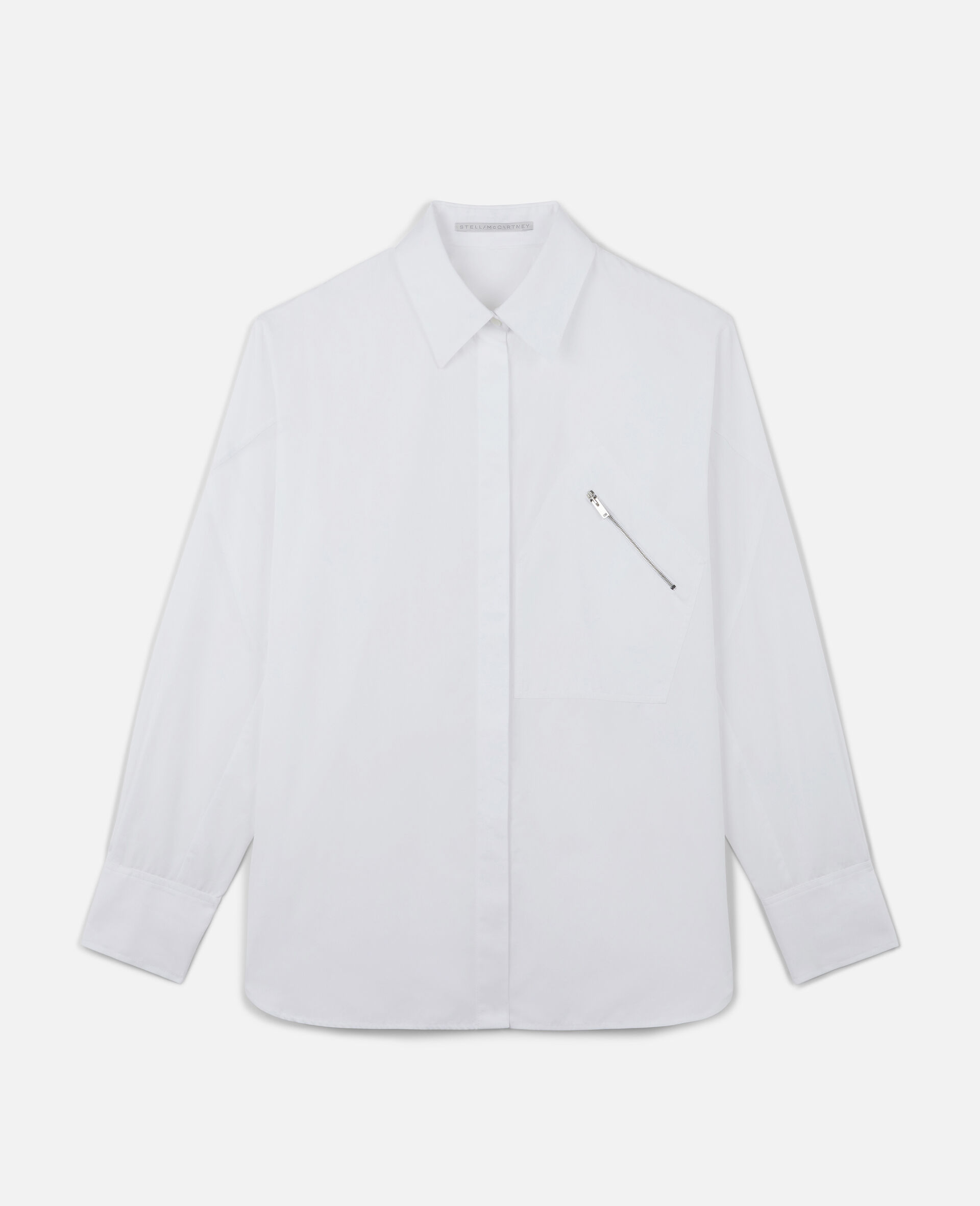 Clara 棉质衬衫-白色-large image number 0