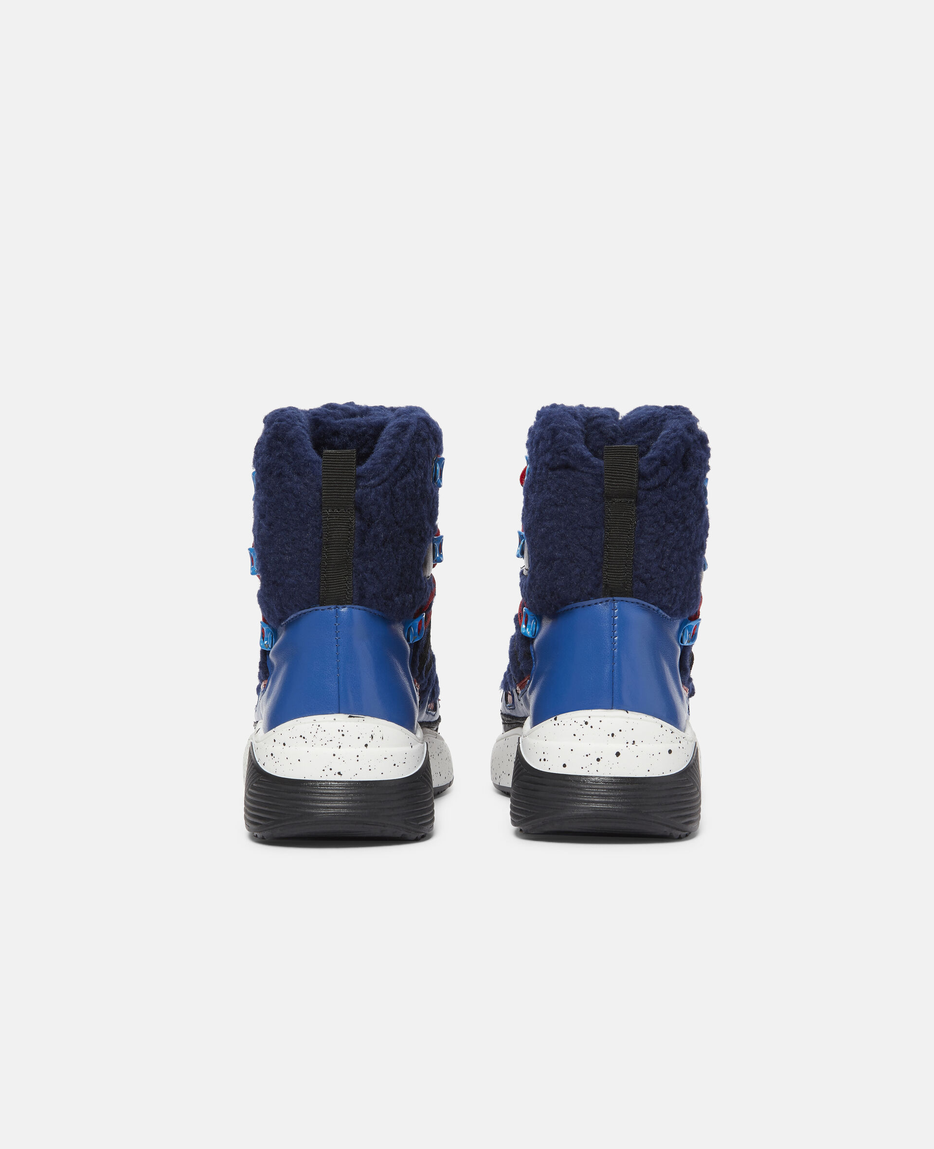 Colourblock Hiking Boots-Blue-large image number 2