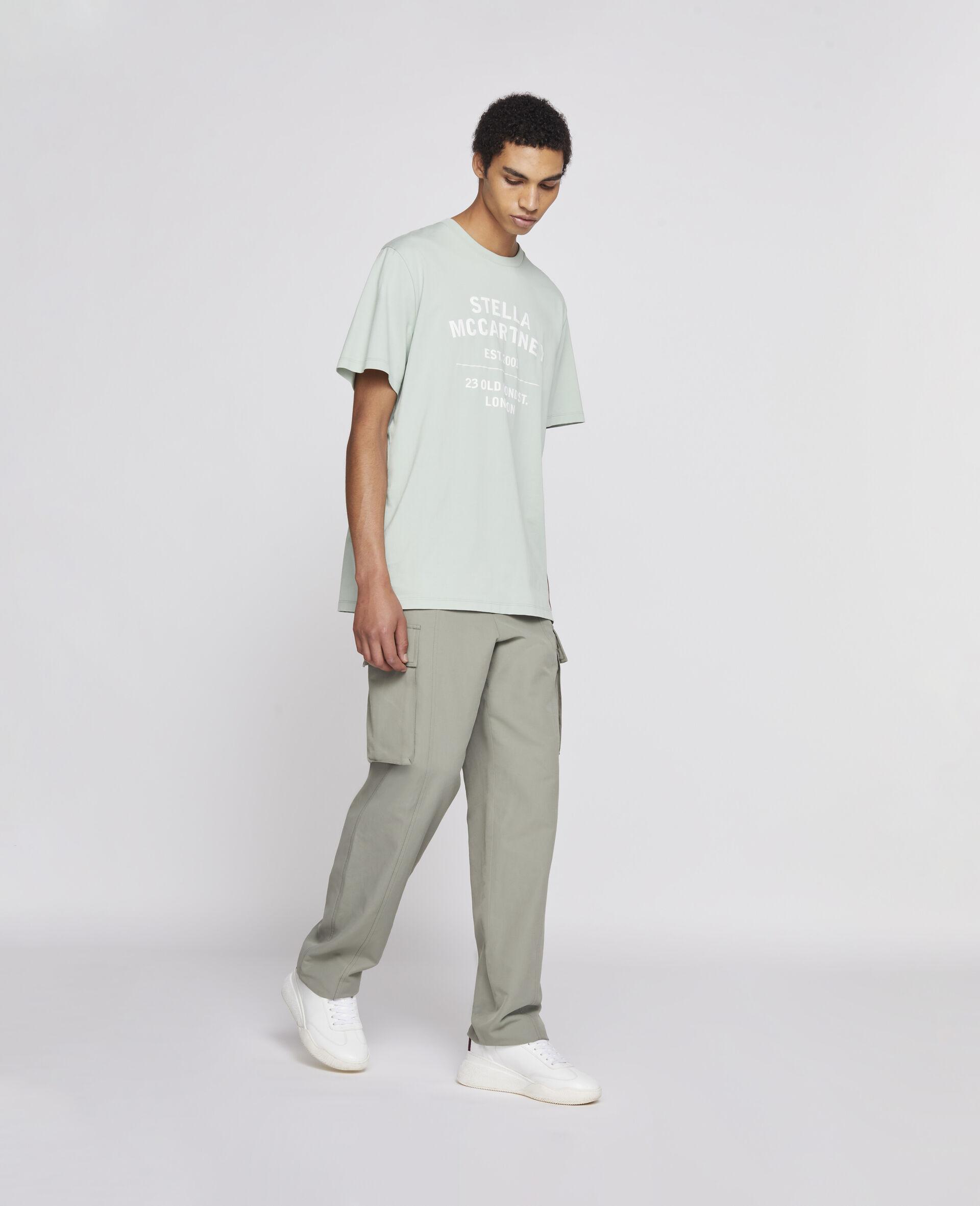 T-shirt 23 OBS en coton biologique-Noir-large image number 3