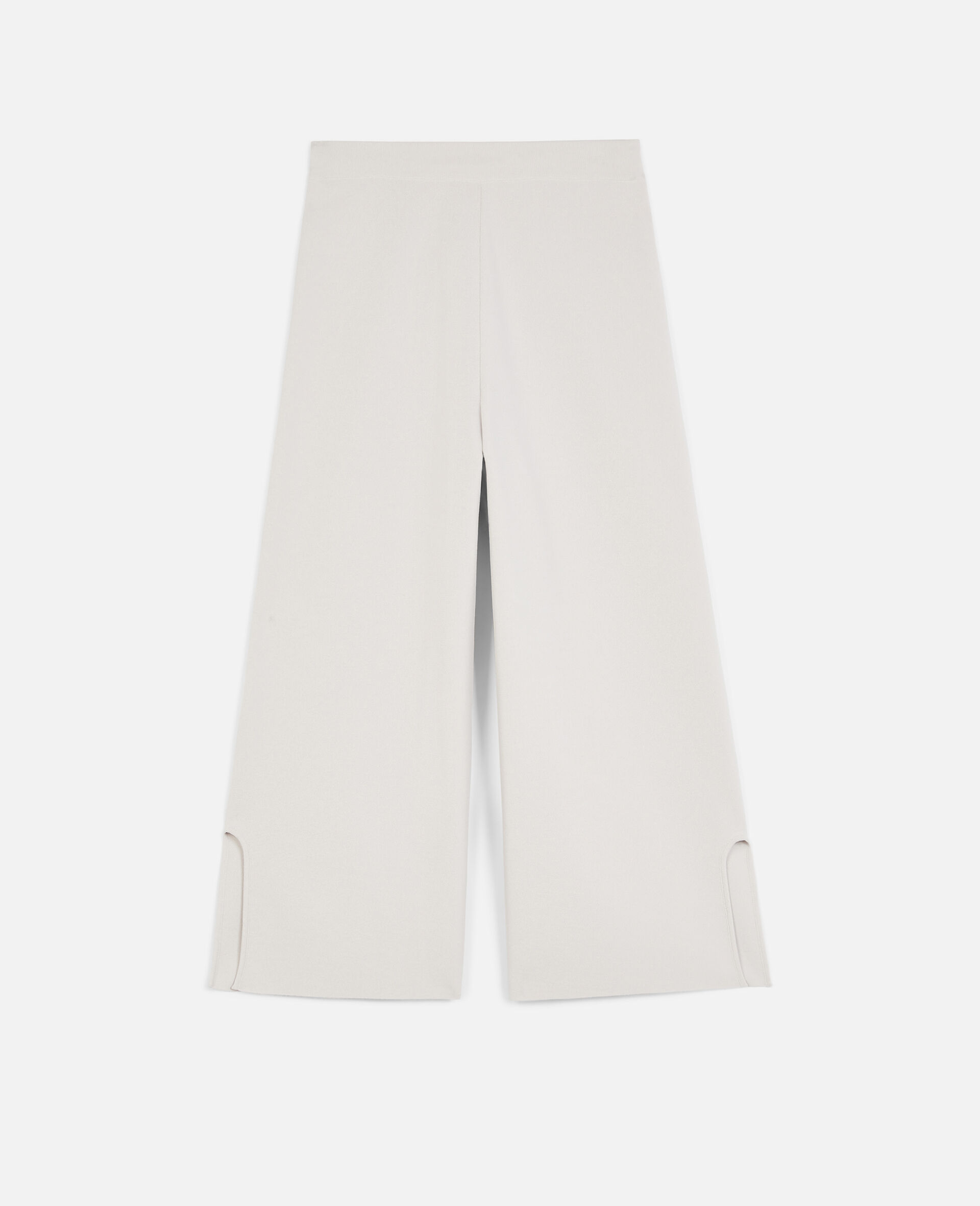 Compact Knit Trousers-Grey-large image number 0