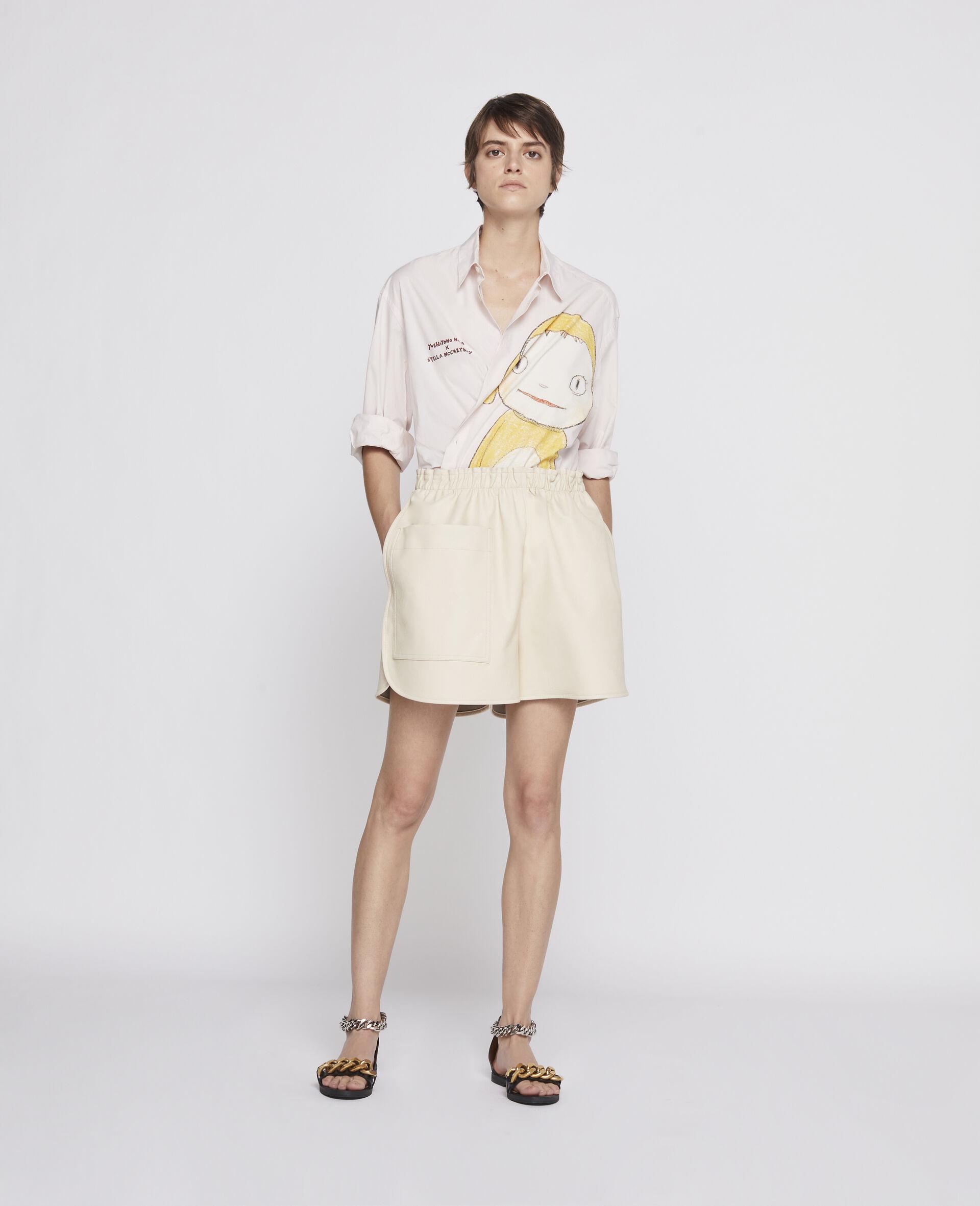 Lane Alter Mat Shorts-Beige-large image number 1