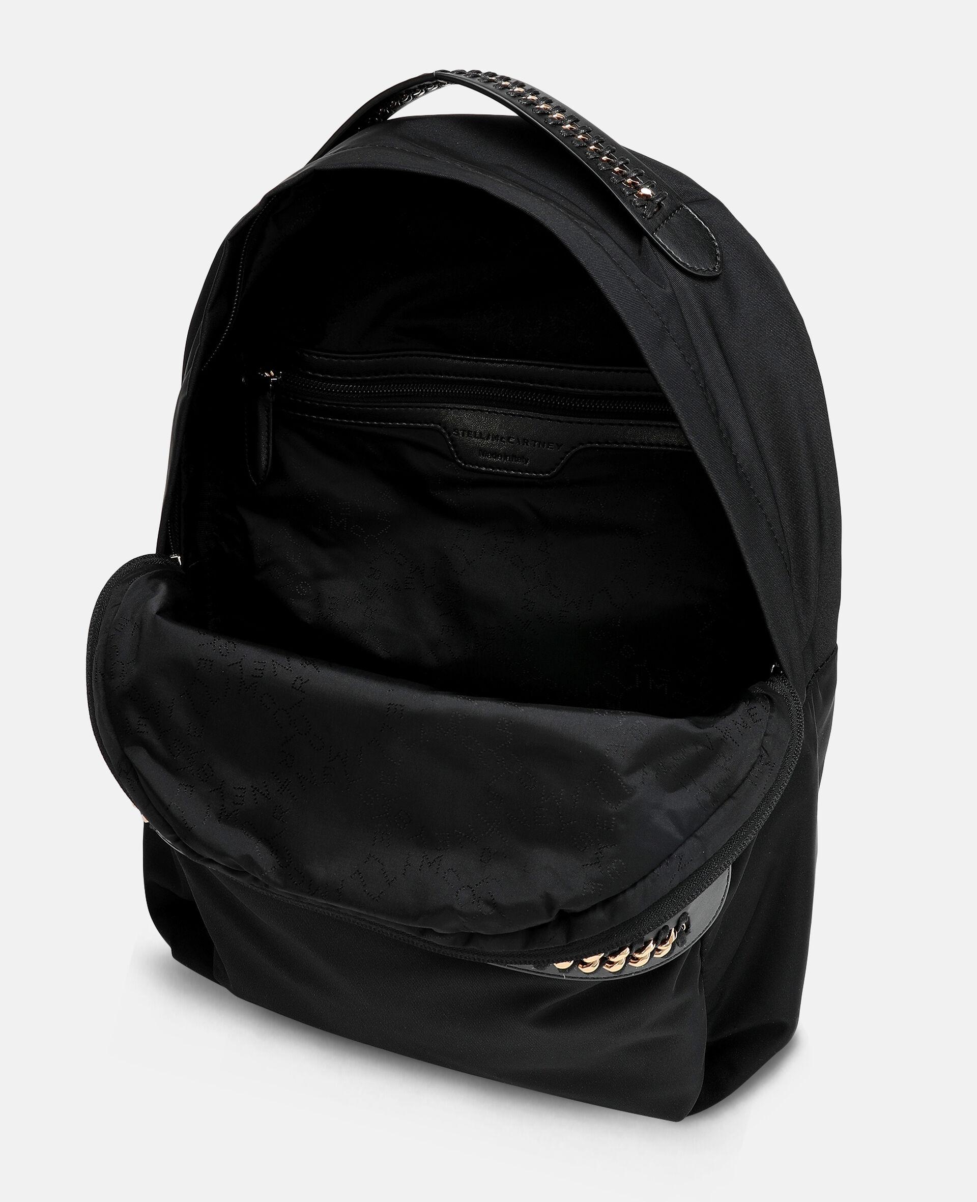 Falabella Logo Go Backpack-Black-large image number 3