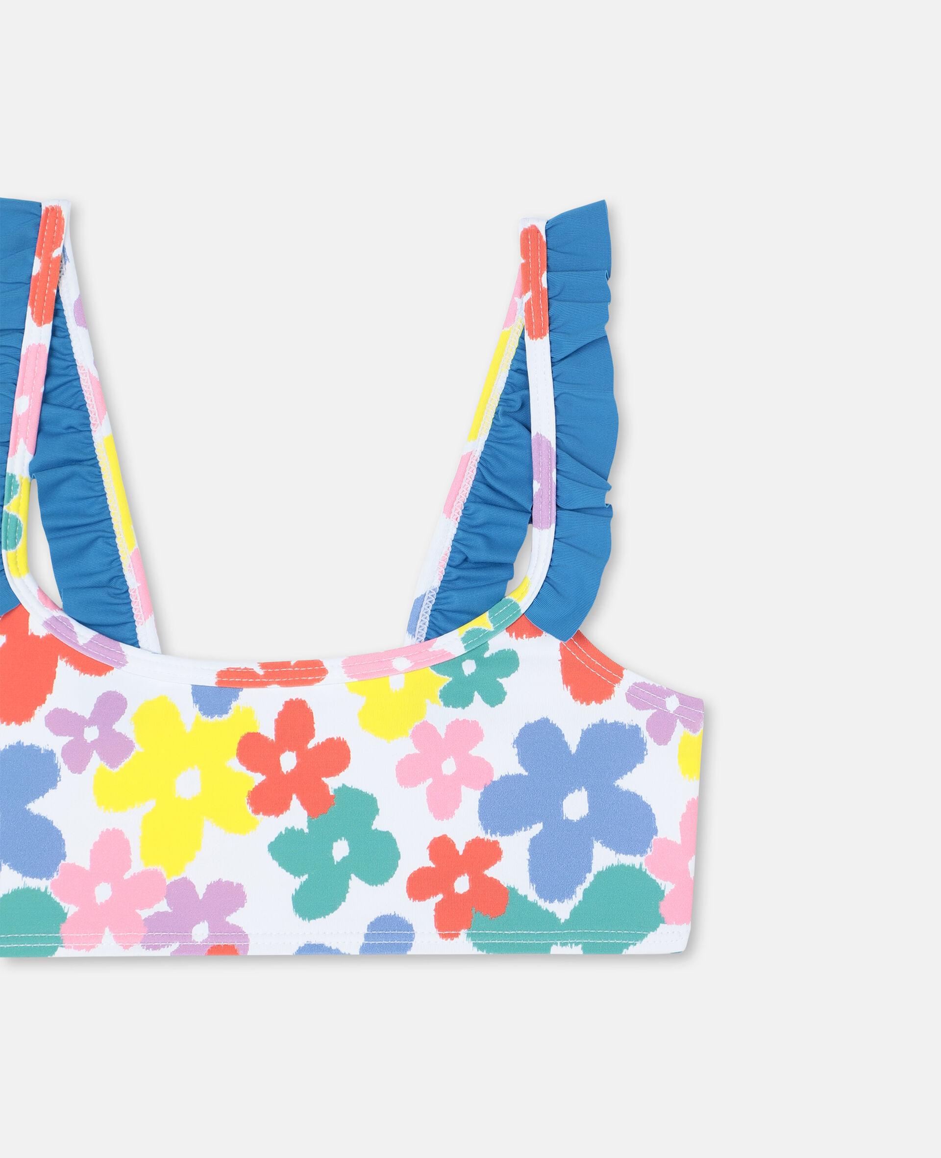 Multicolor Flower Bikini -Multicolour-large image number 1