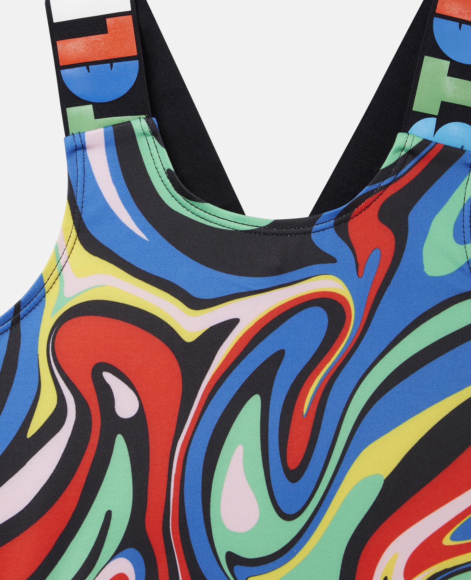 Sport-Top mit marmoriertem Print-Bunt-large image number 2