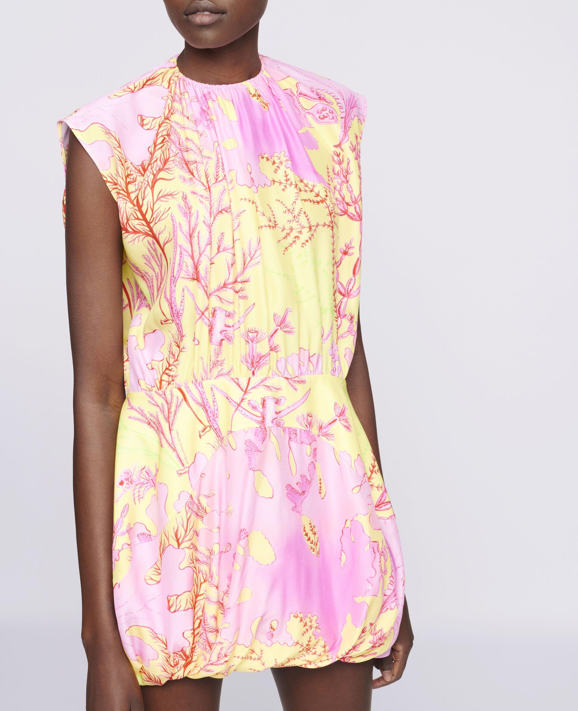 Bethany Silk Dress-Multicolour-large image number 3