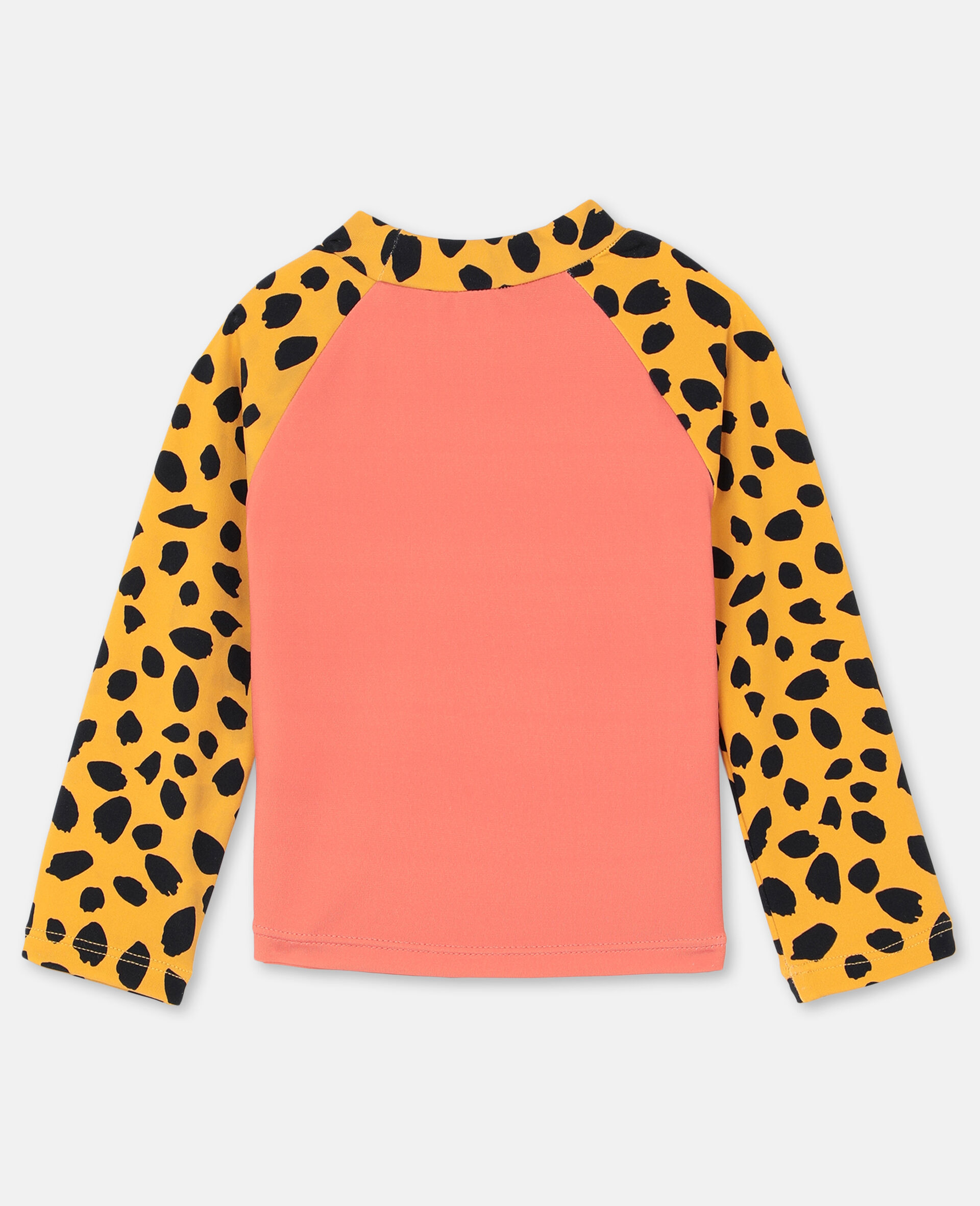 Cheetah Swim T-shirt -Red-large image number 4