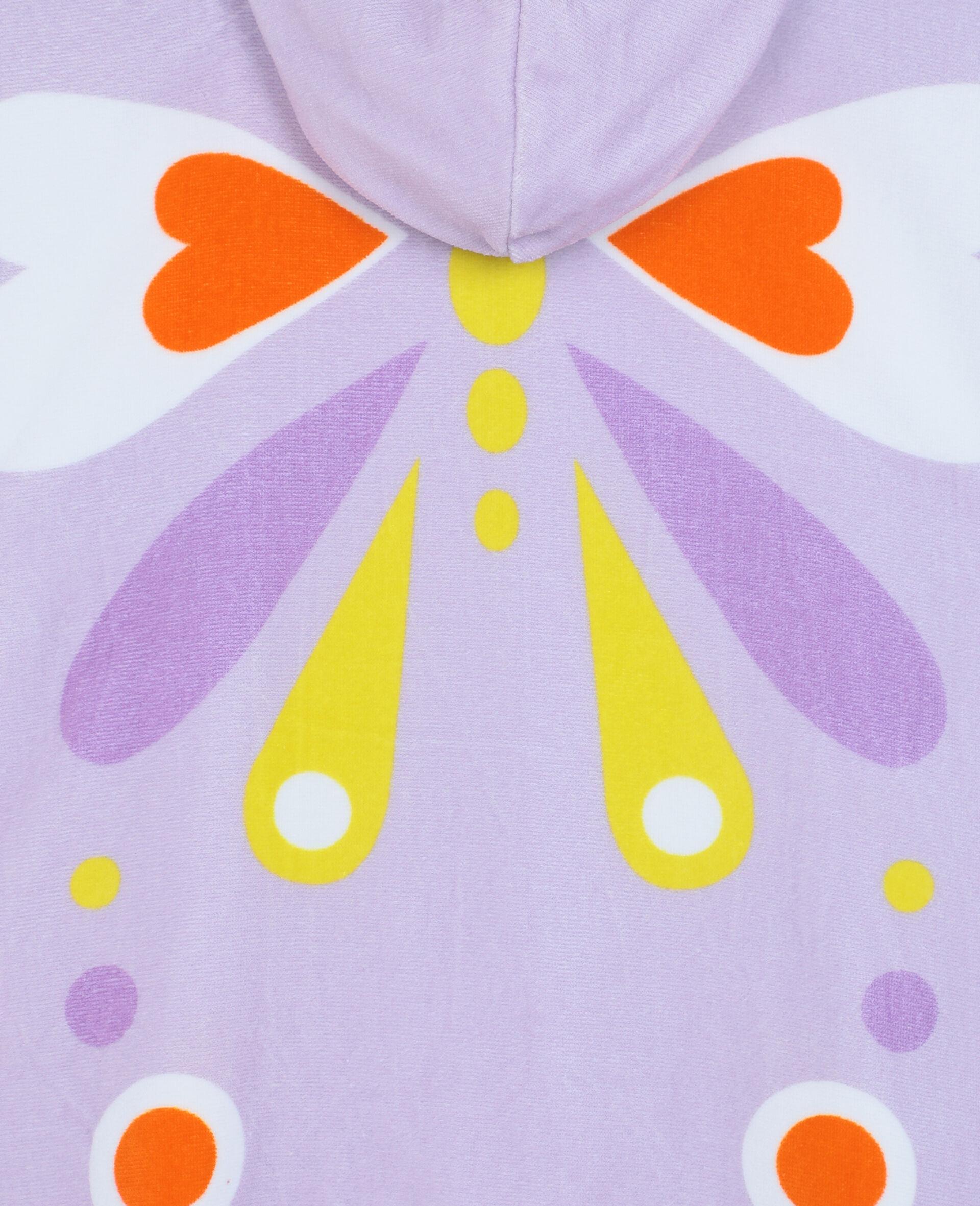 Baumwollhandtuch mit Schmetterlingen-Rose-large image number 2