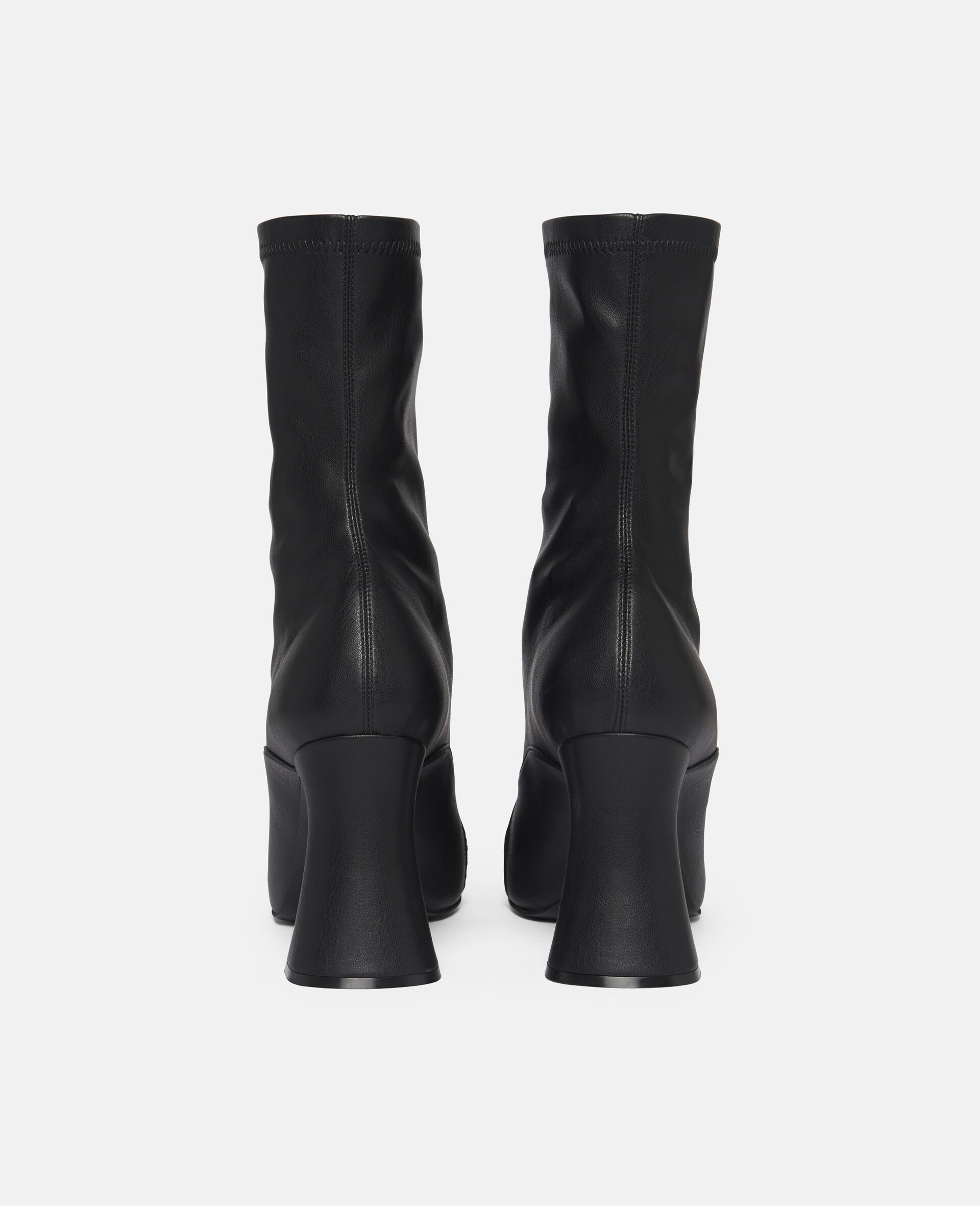 Duck City Ankle Boots -Black-large image number 2