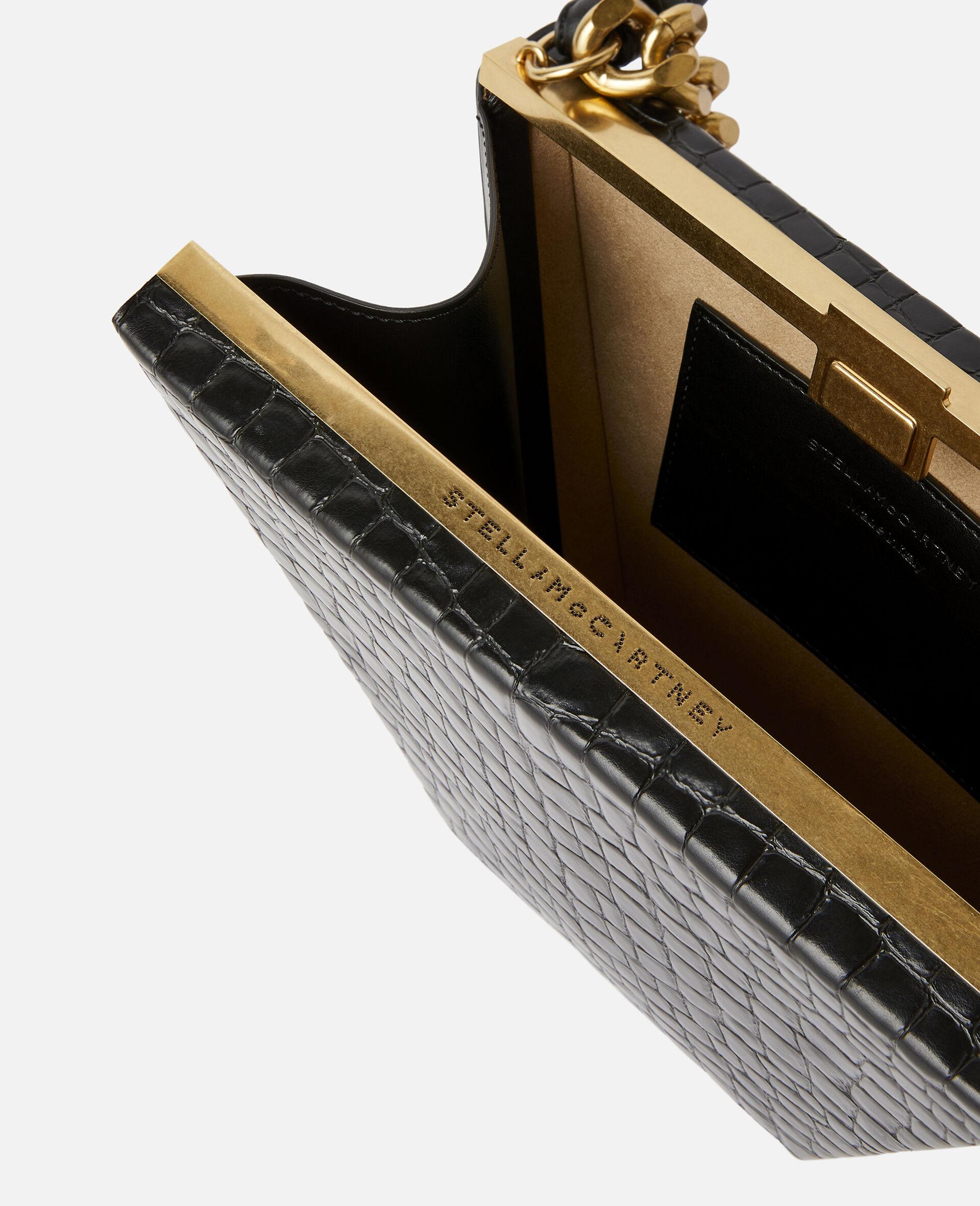 Medium Chunky Chain Bag-Black-large image number 3