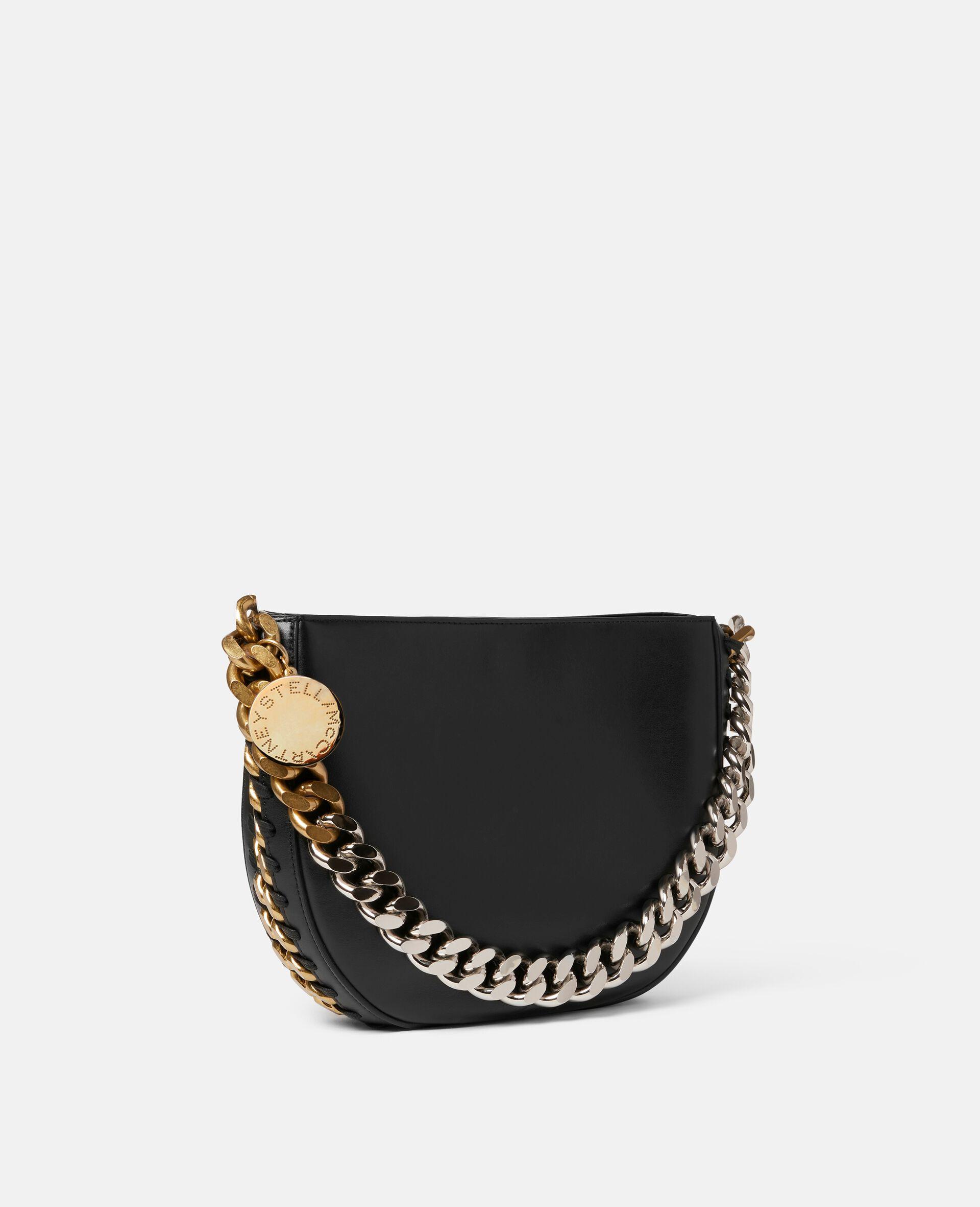 Frayme Medium Shoulder Bag-Black-large image number 1