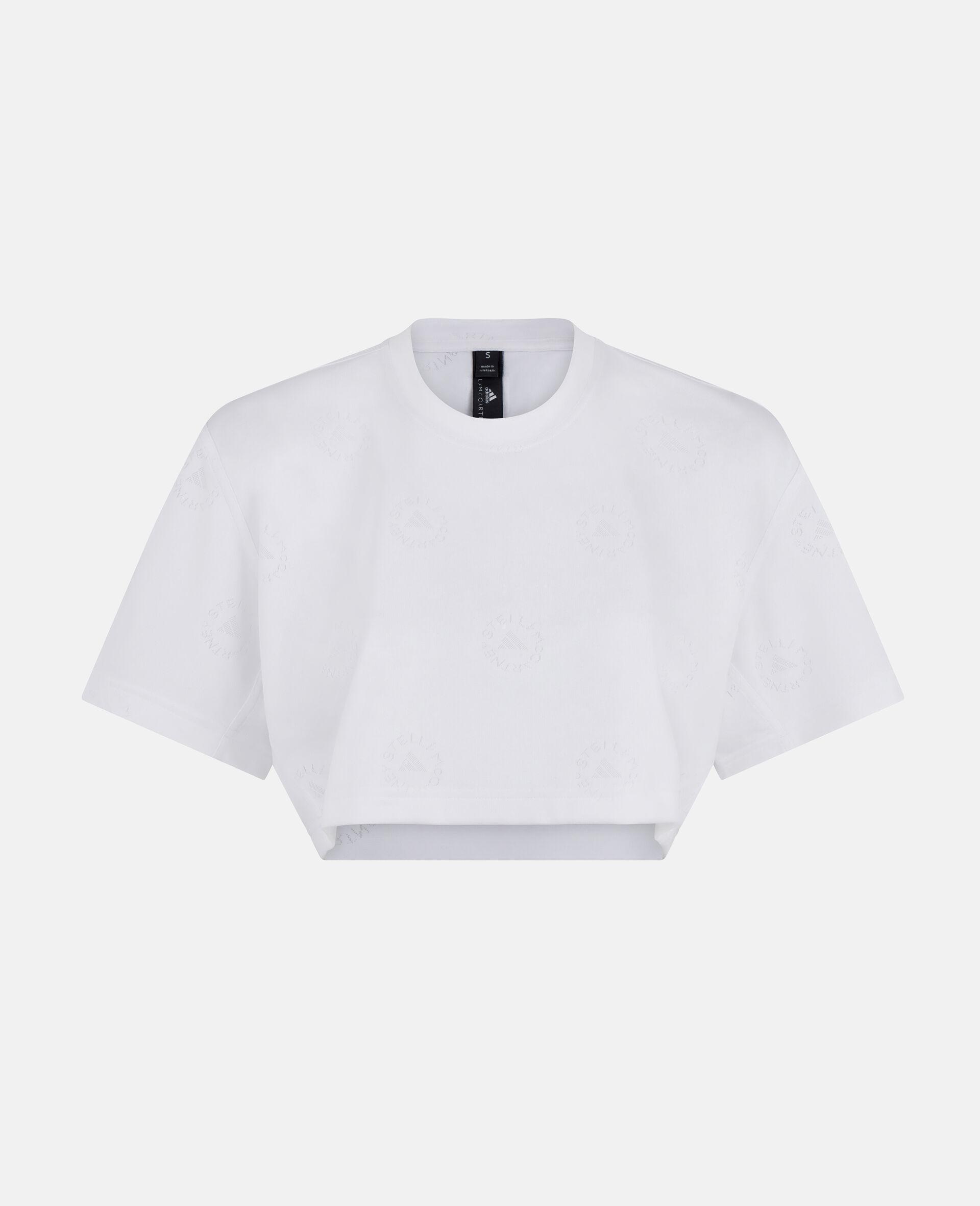 短款 T 恤-白色-large image number 0
