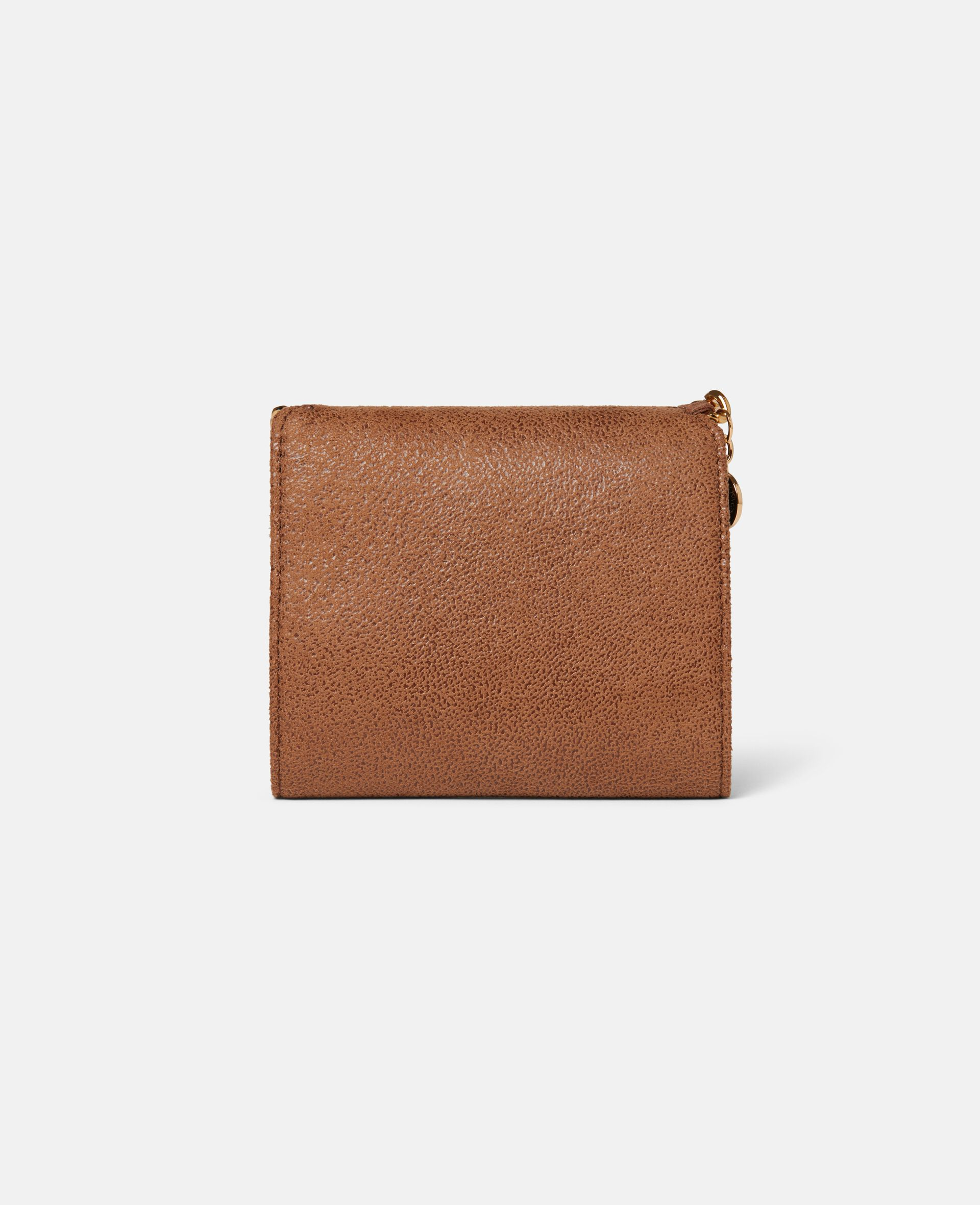 Kleines Portemonnaie Falabella mit Überschlag-Beige-large image number 2