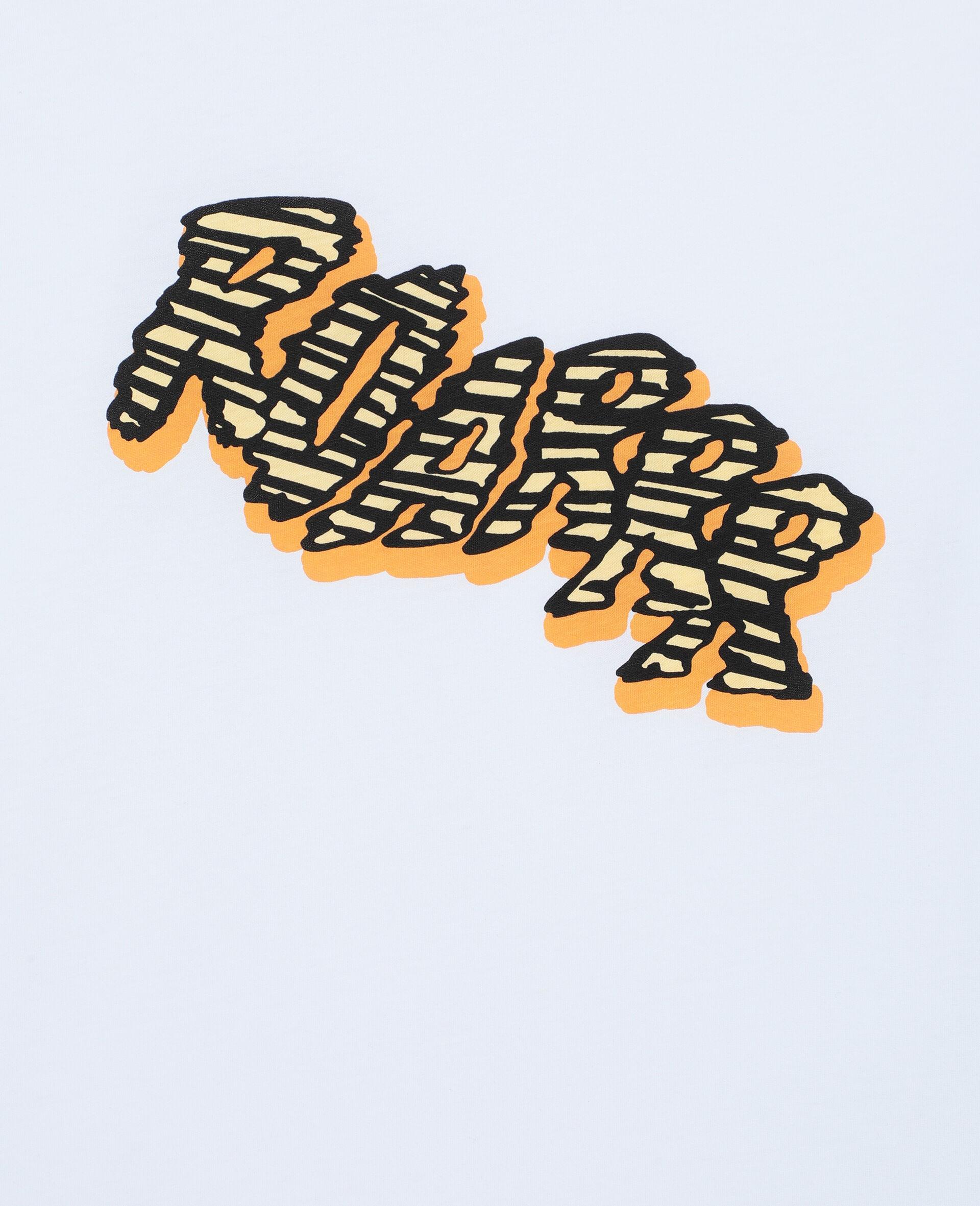 Roarrr 阔型棉质 T 恤 -白色-large image number 2