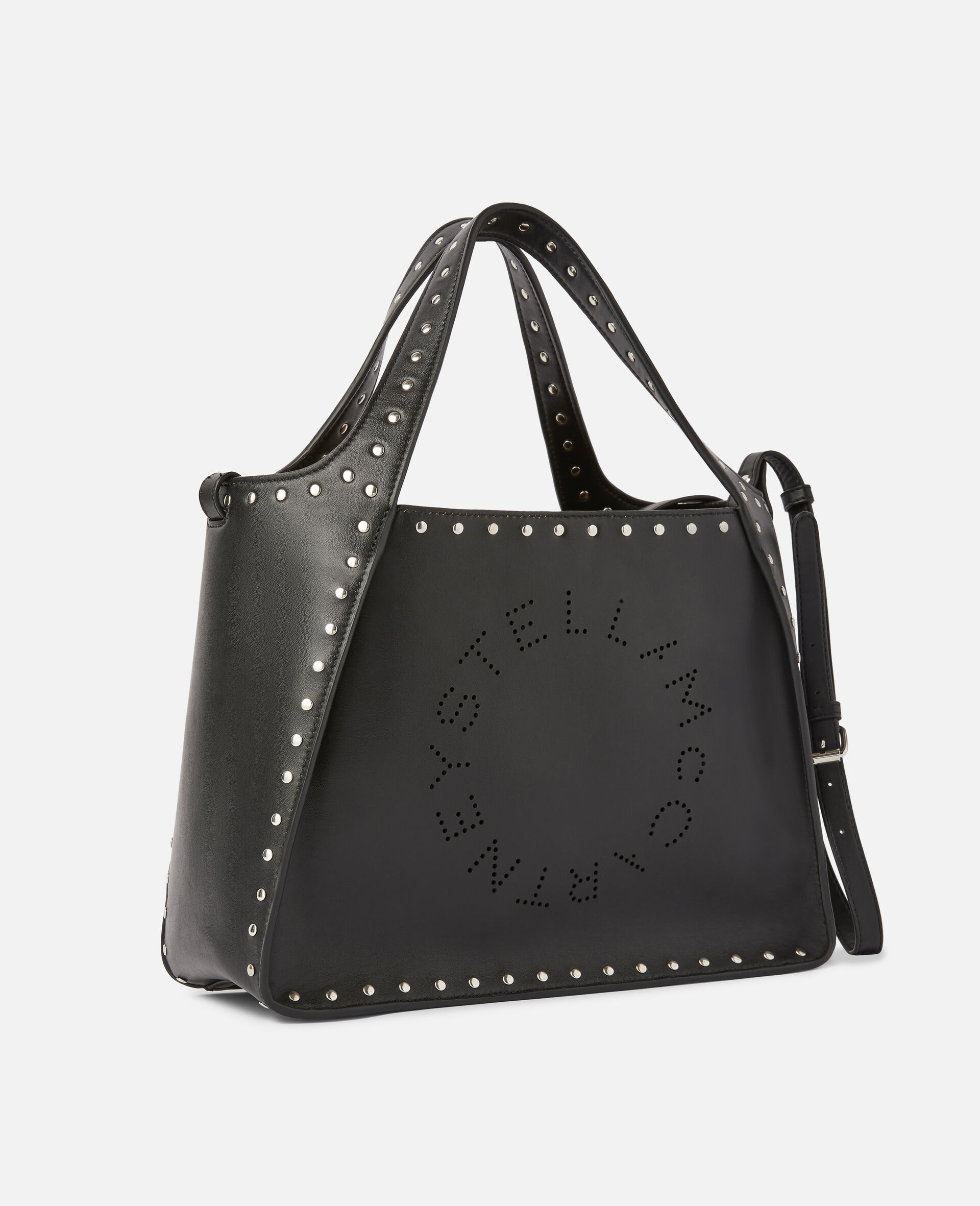 Stella Logo Crossbody Bag -Black-large image number 1
