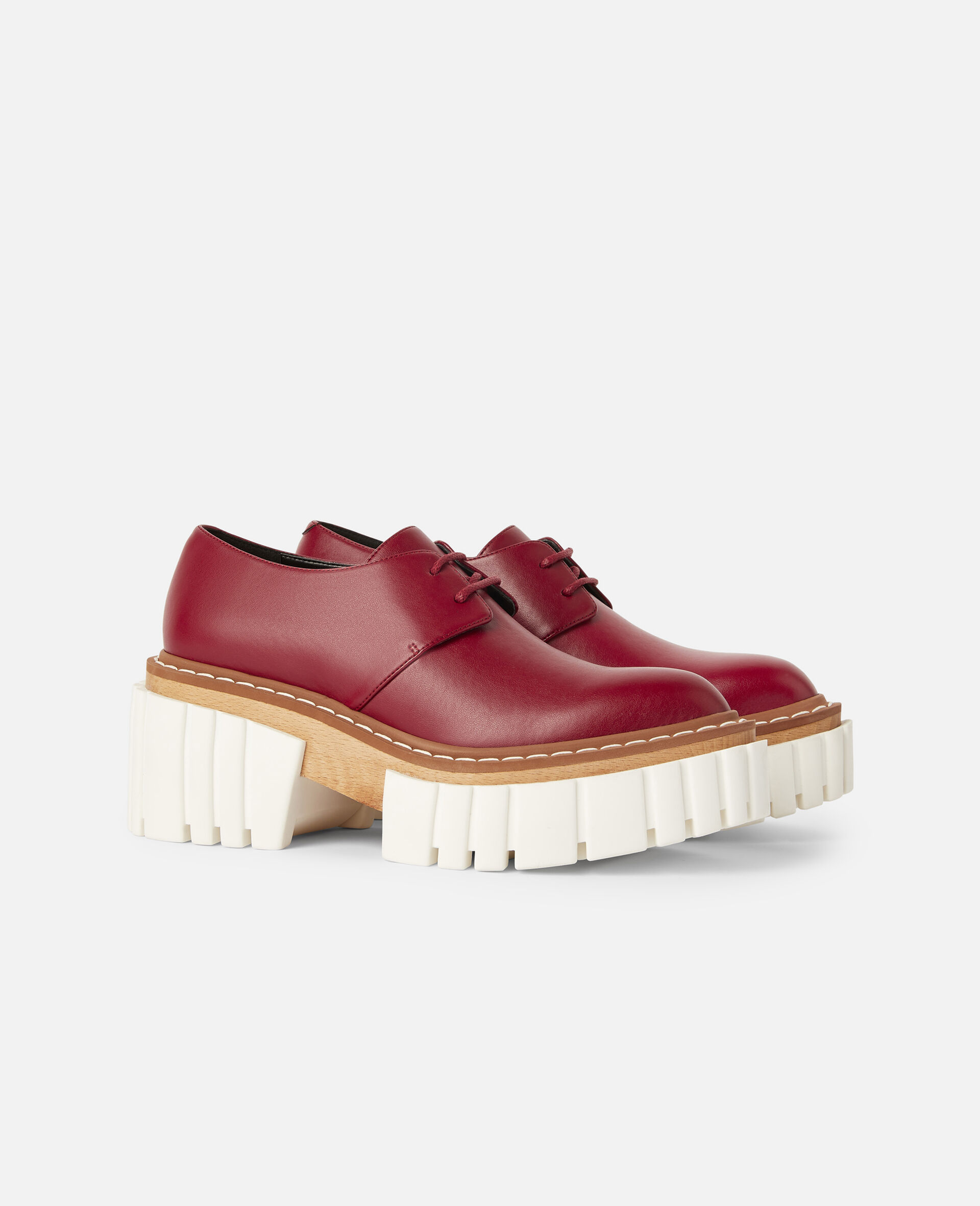 Emilie Lace-Up Shoes-Red-large image number 1