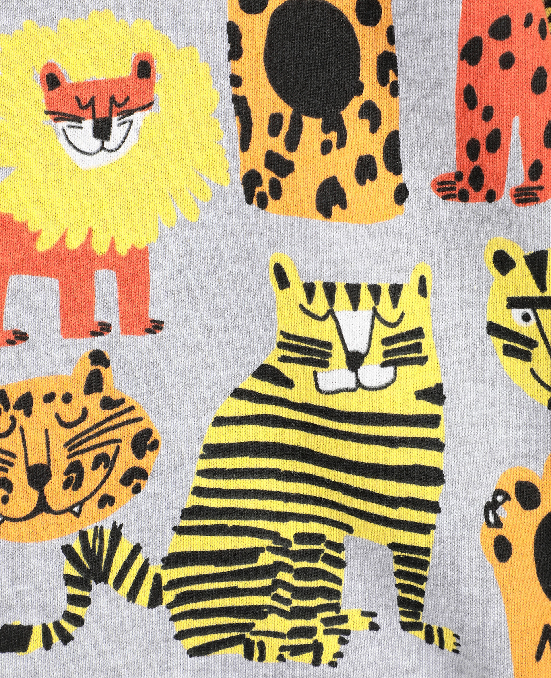 Wild Cats 棉质卫衣 -Multicolored-large image number 1